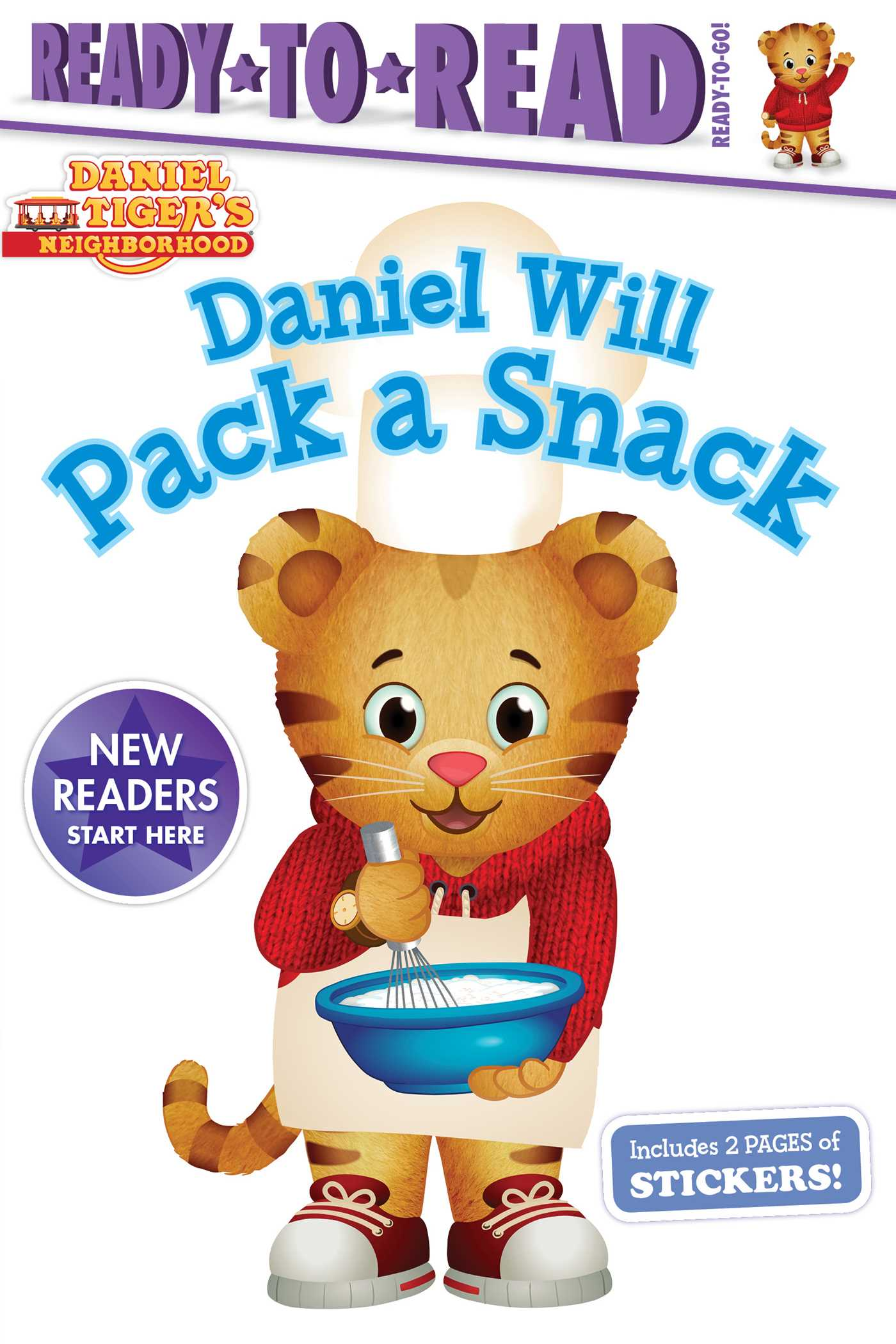 Daniel will pack a snack 9781534411173 hr