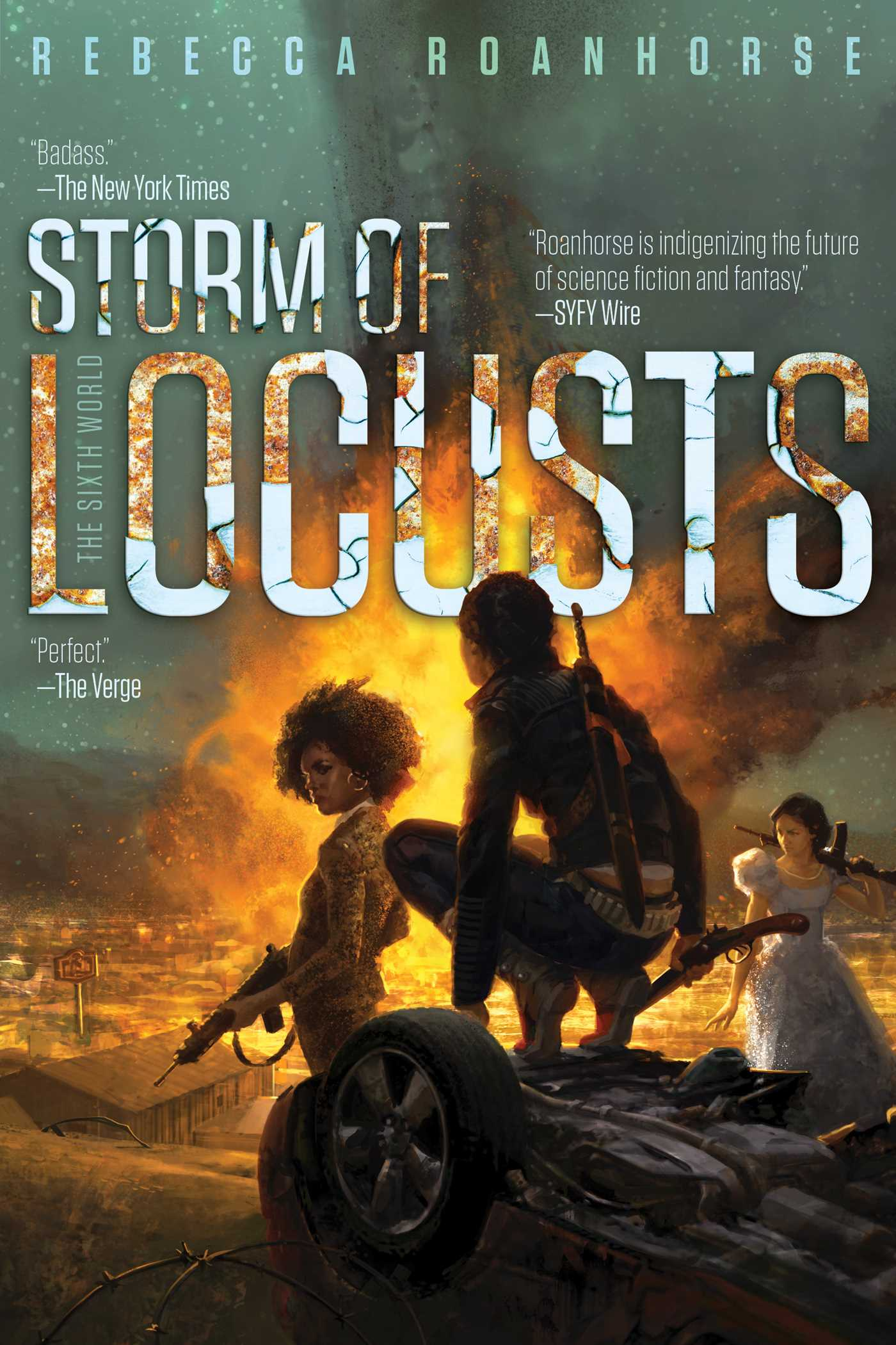 Storm of Locusts | Book by Rebecca Roanhorse | Official