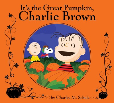 its the great pumpkin charlie brown book by charles m