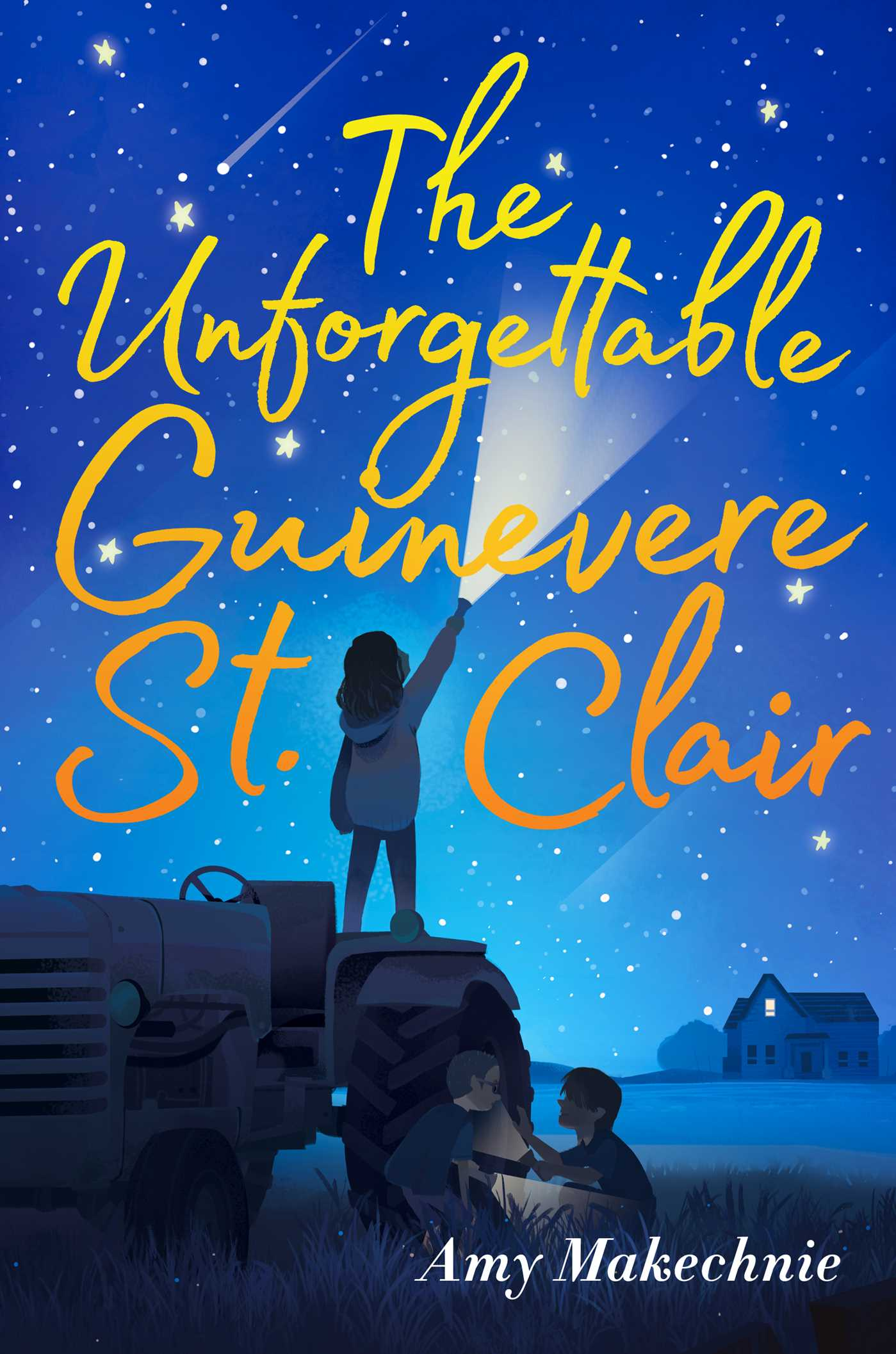 The unforgettable guinevere st clair 9781534414464 hr