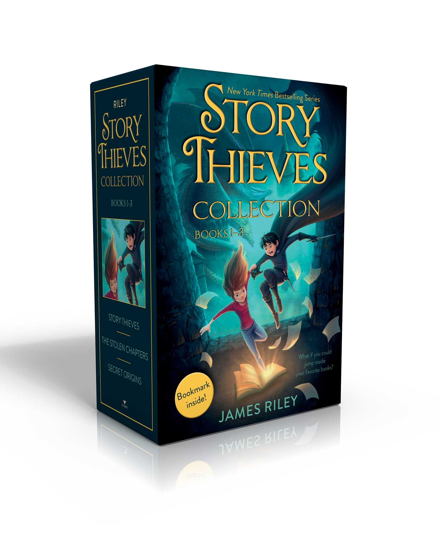 Story thieves collection books 1 3 bookmark inside 9781534414747 hr