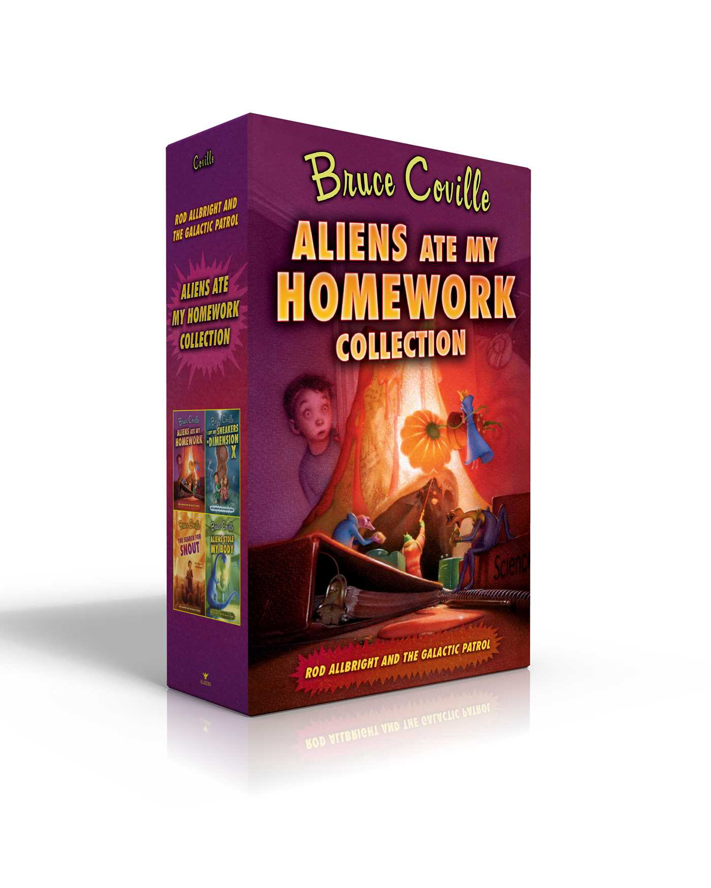 Aliens ate my homework collection 9781534415140 hr