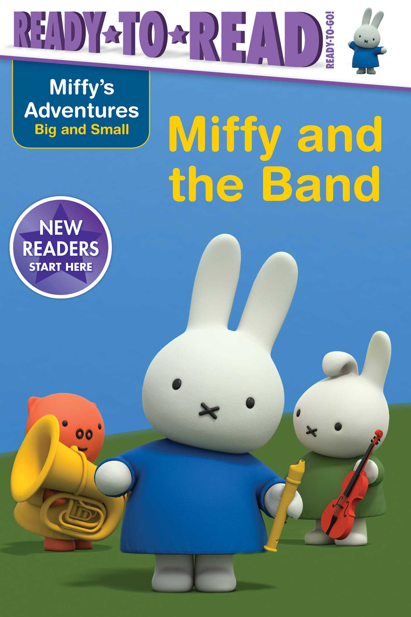 Miffy and the band 9781534416239 hr