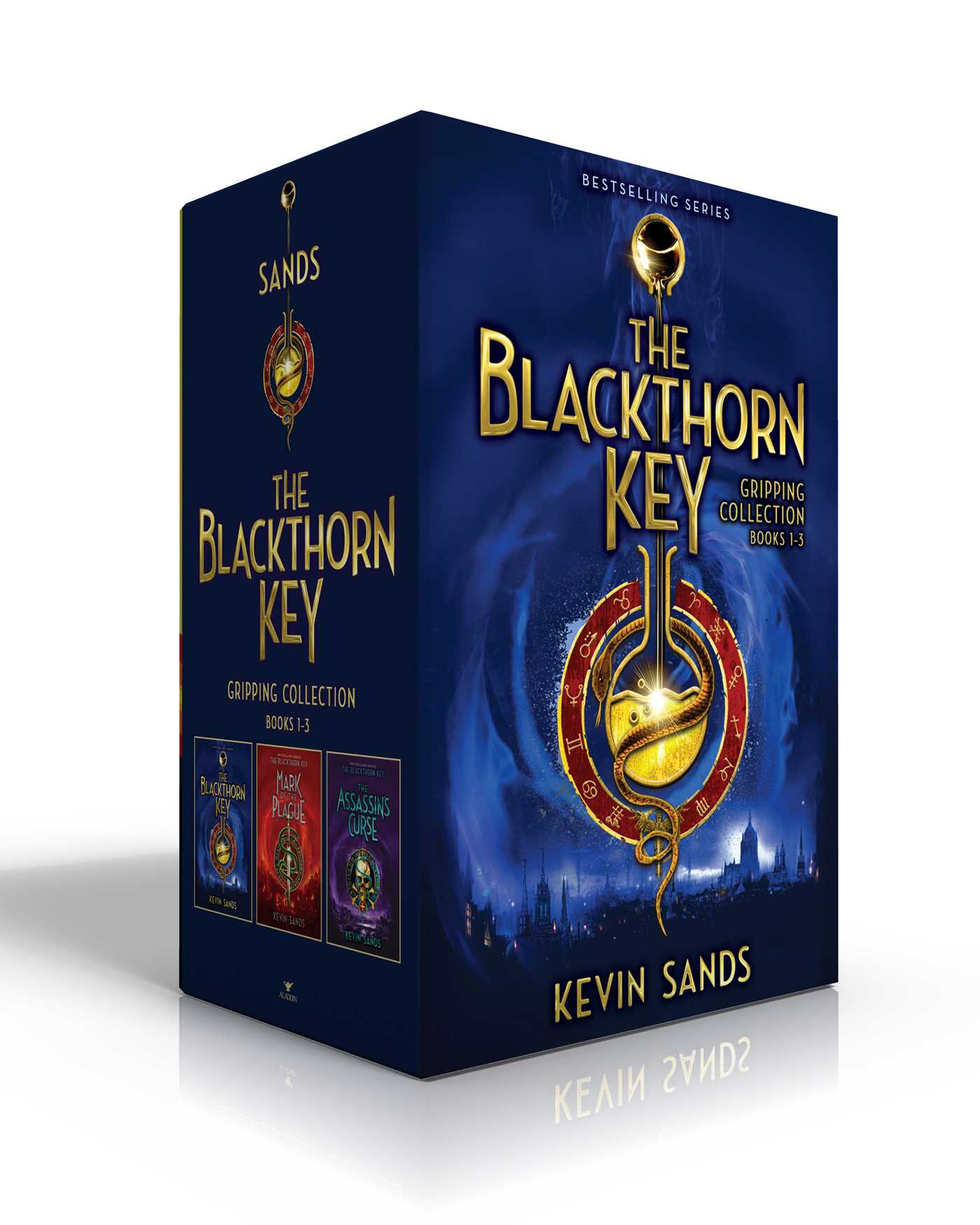 The blackthorn key gripping collection books 1 3 9781534416321 hr
