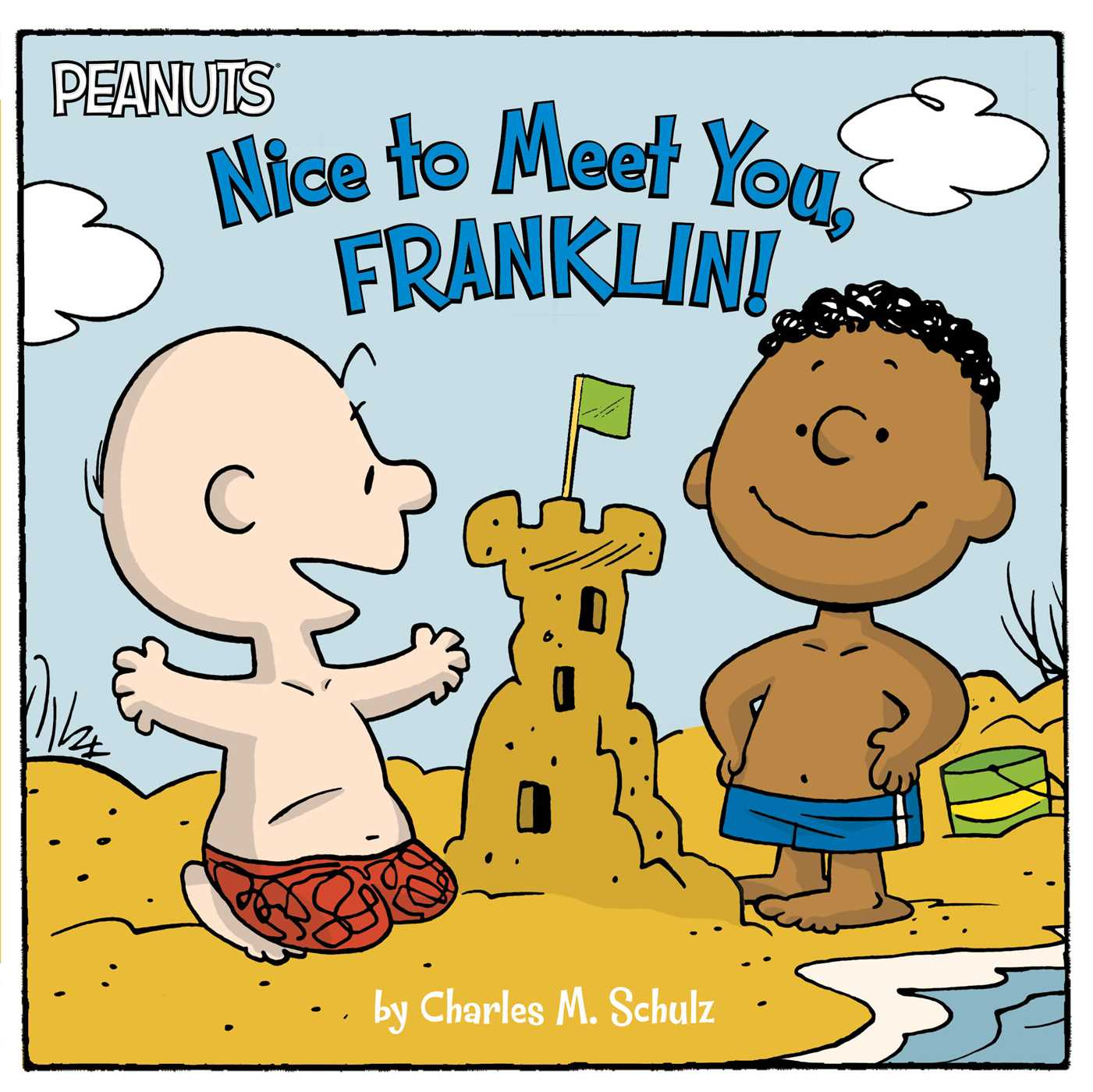 Nice To Meet You Franklin Book By Charles M Schulz Tina Gallo Robert Pope Official Publisher Page Simon Schuster