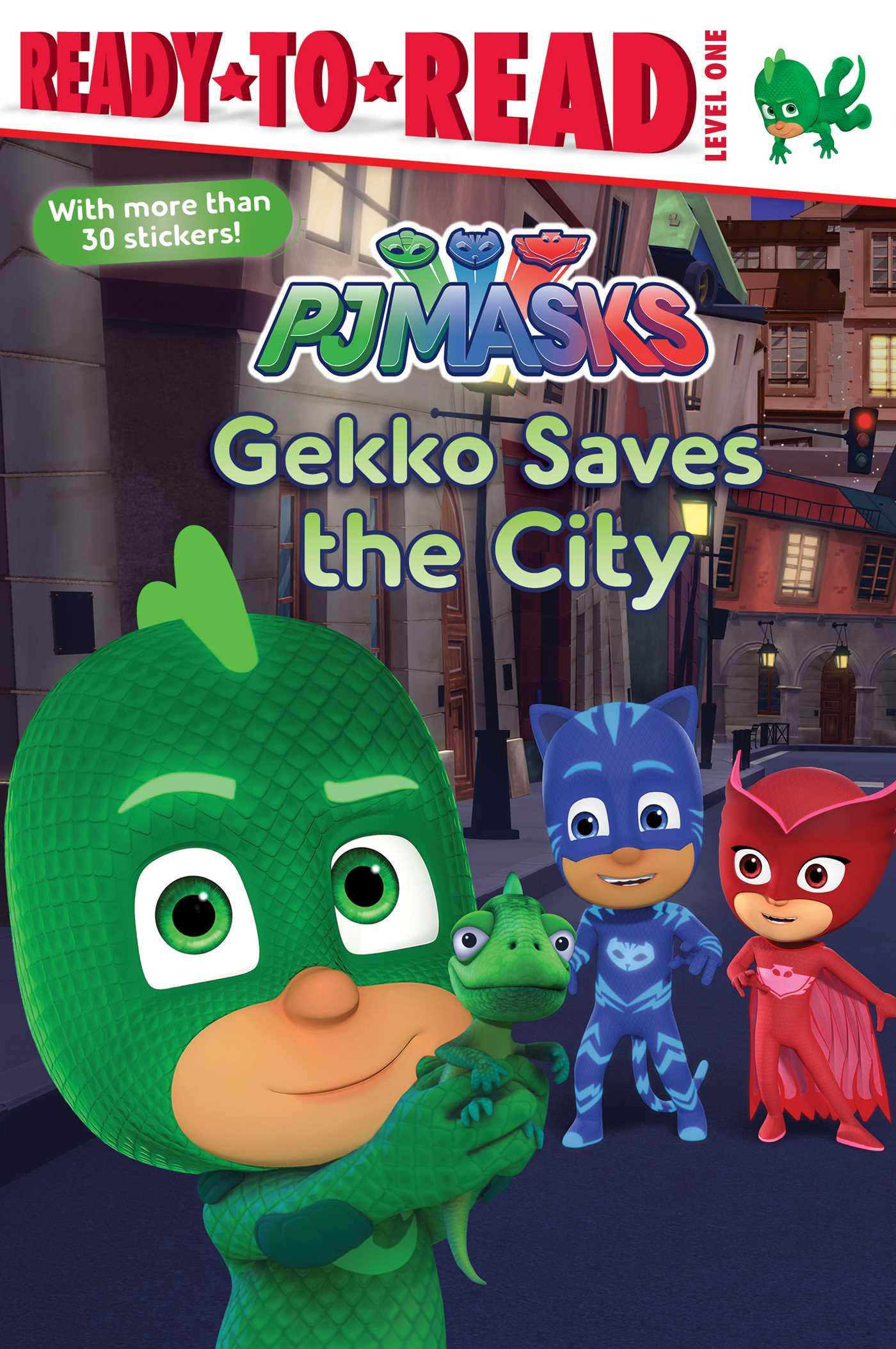 Gekko saves the city 9781534417724 hr