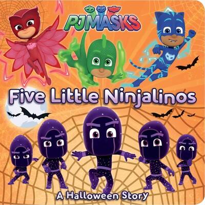 a halloween story five little ninjalinos