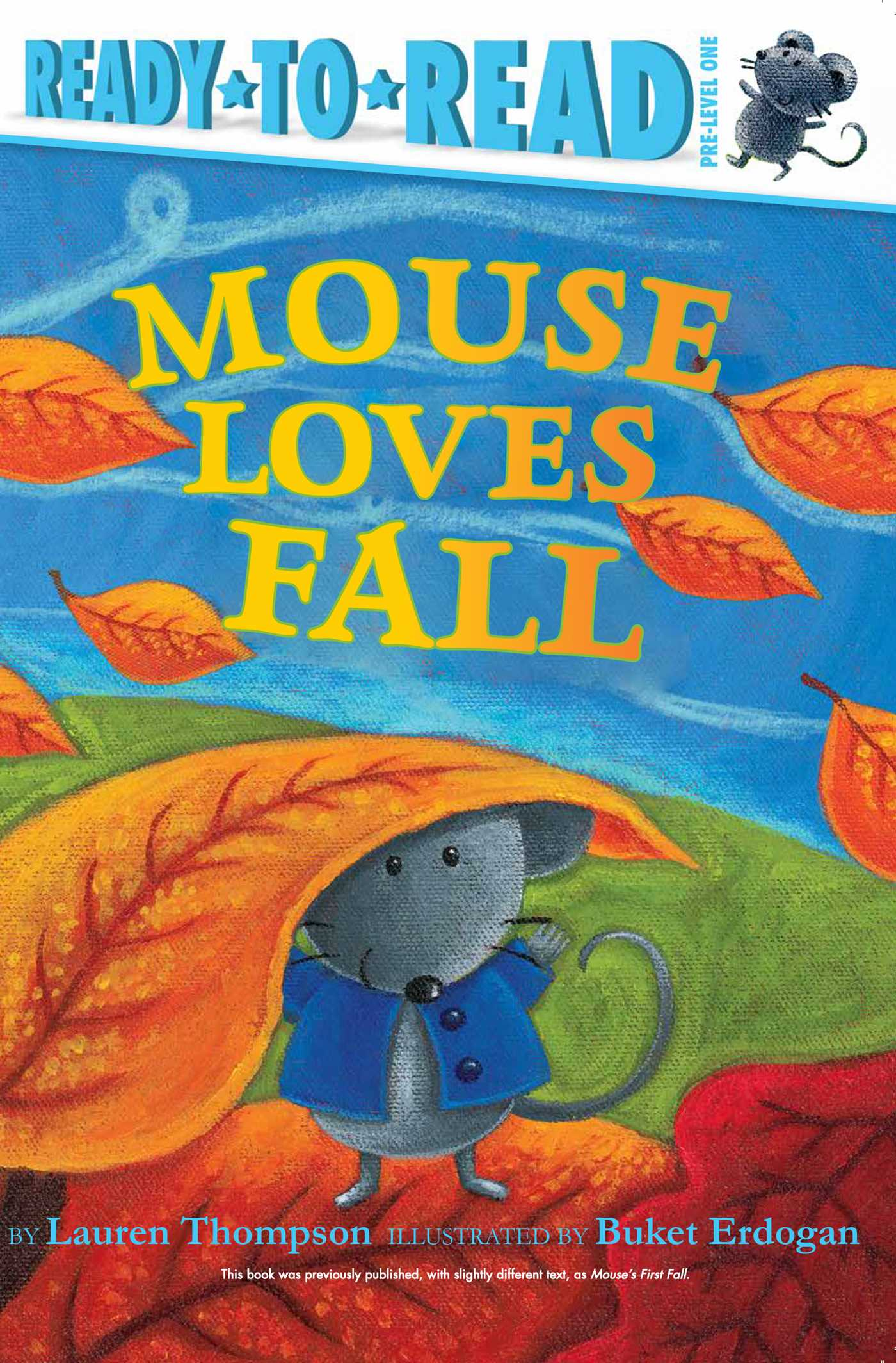 Mouse loves fall 9781534421462 hr