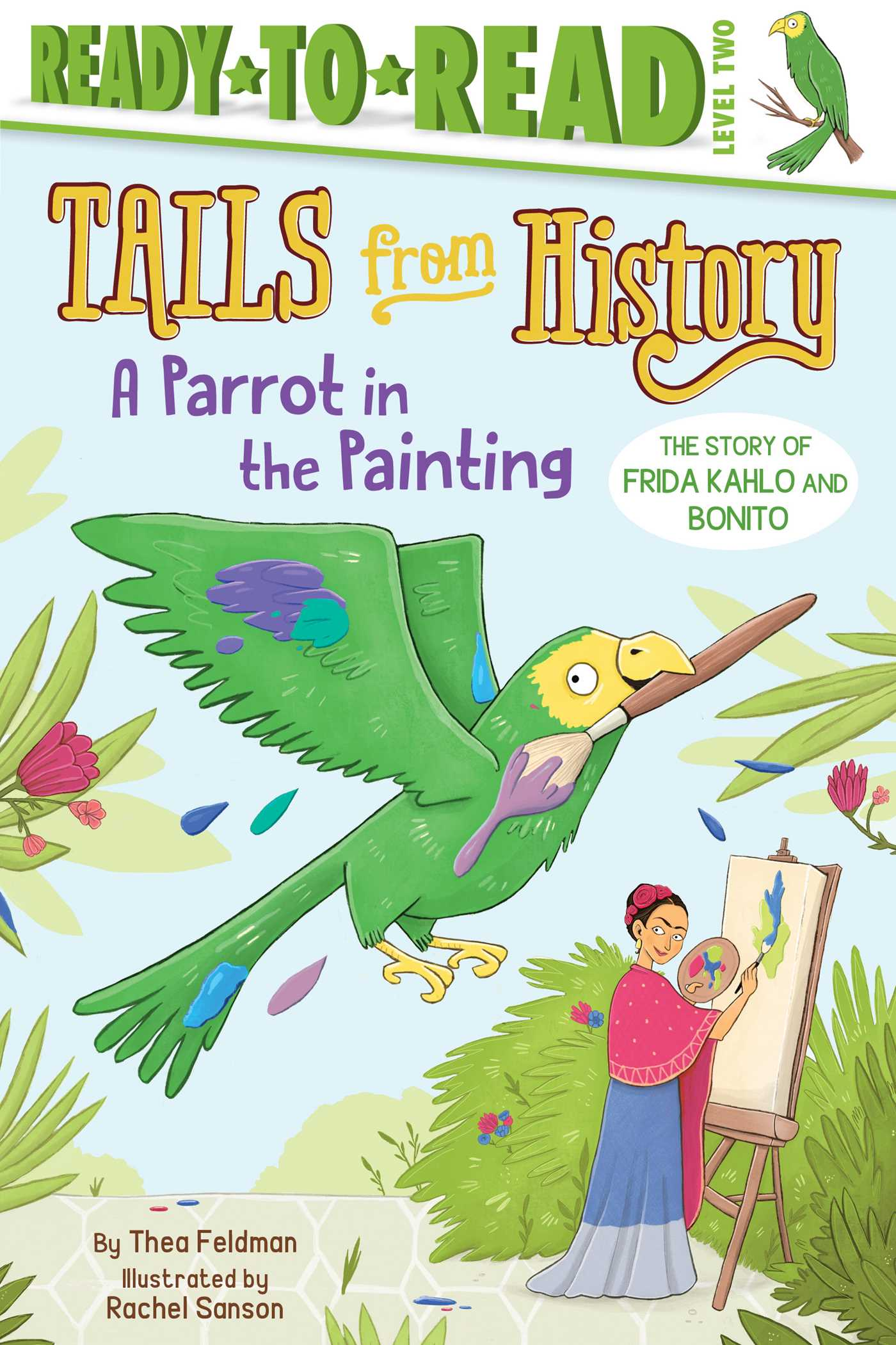 A parrot in the painting 9781534422292 hr