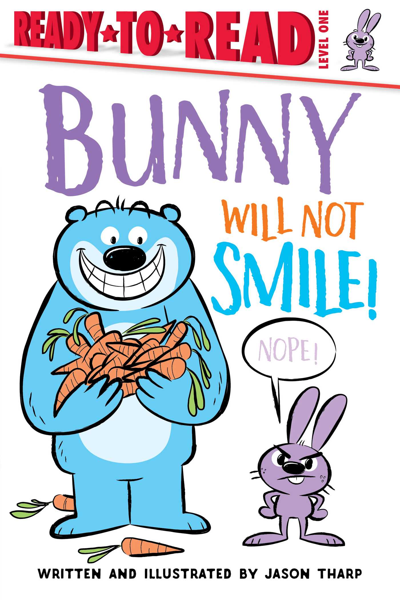 Bunny will not smile 9781534425088 hr