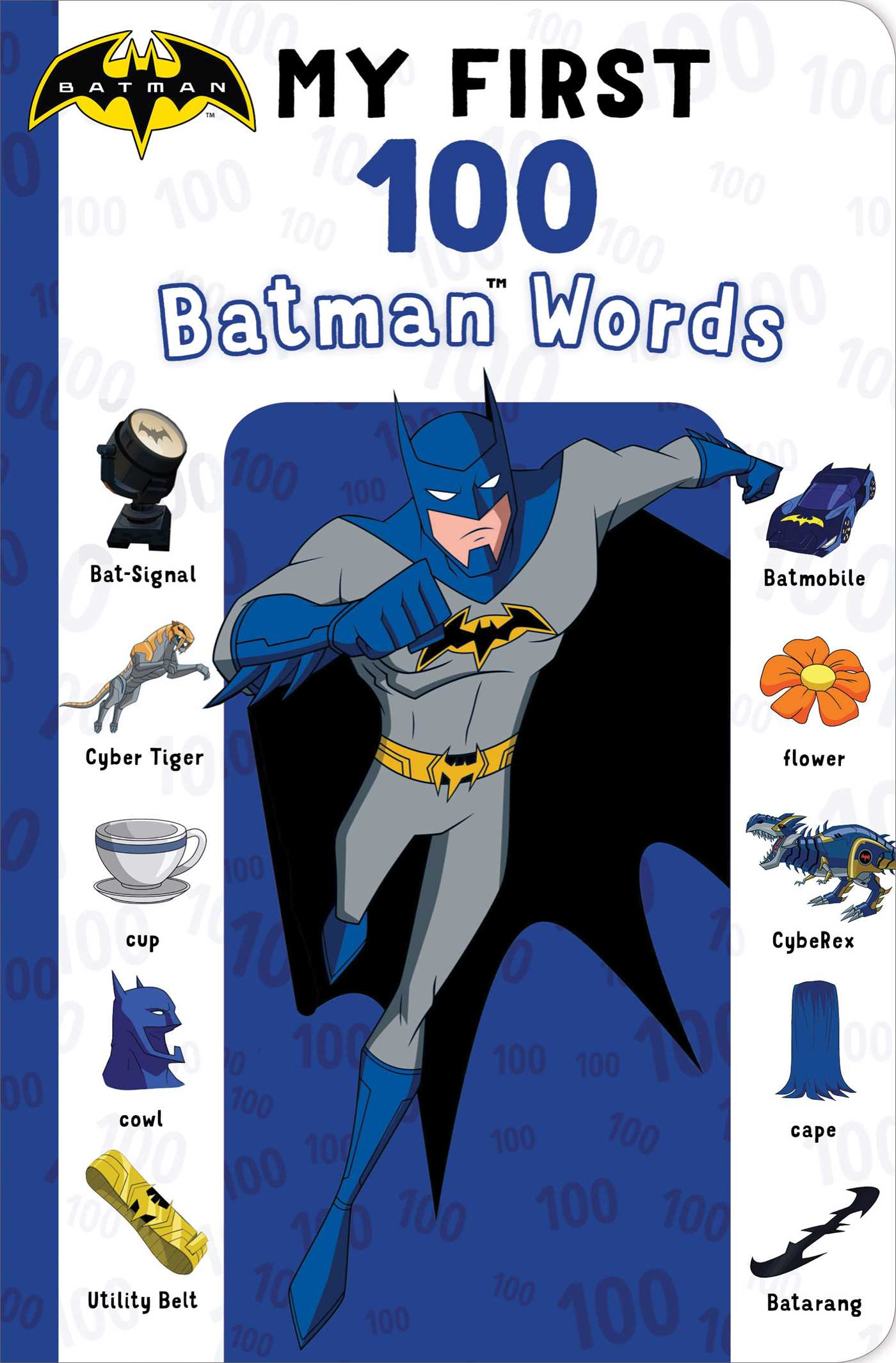 My first 100 batman words 9781534425309 hr