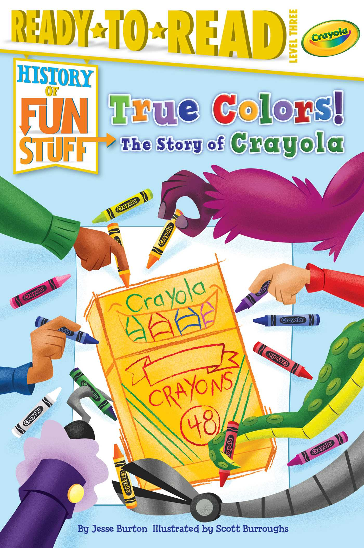 True colors the story of crayola 9781534425668 hr