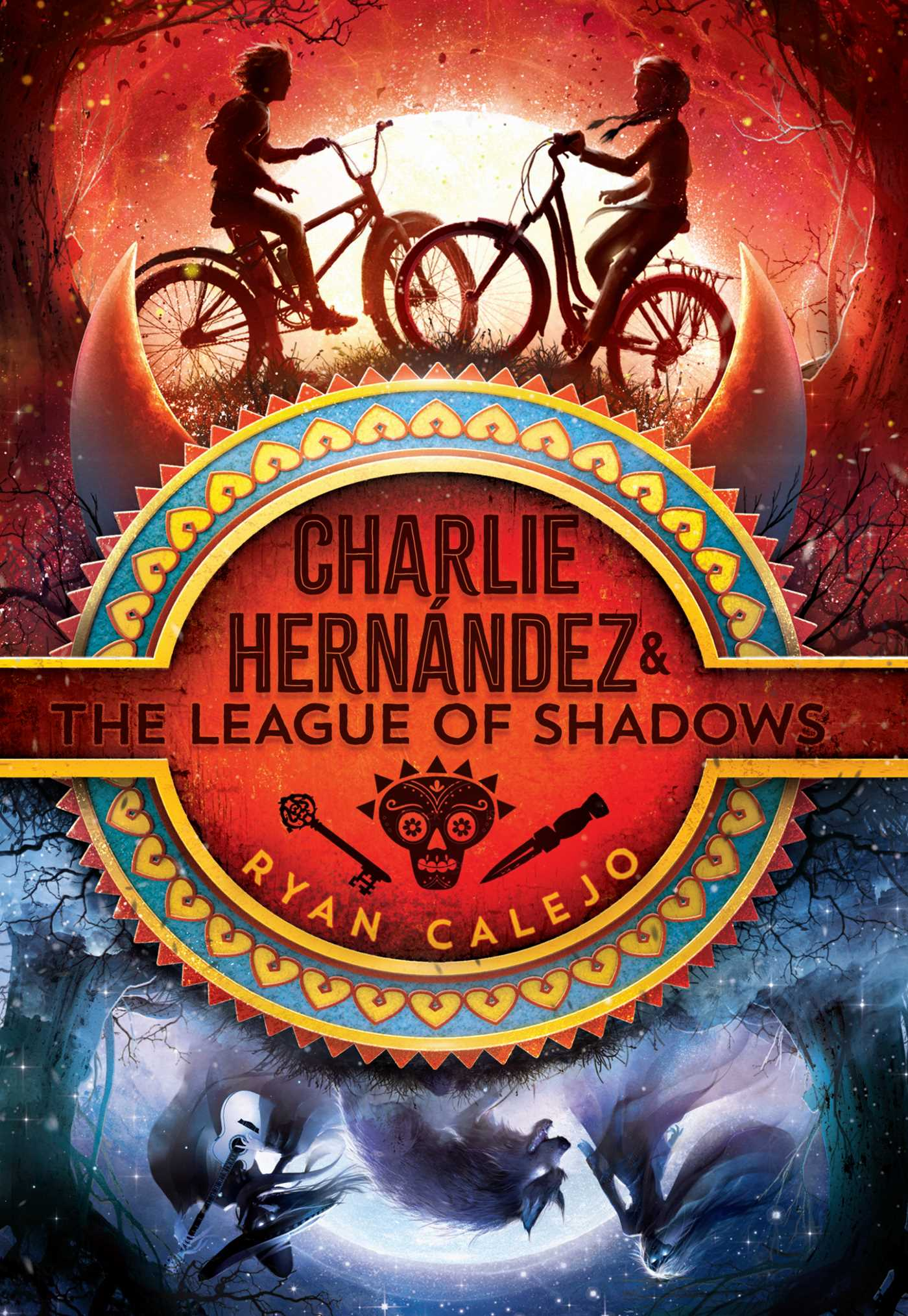Charlie hernandez the league of shadows 9781534426580 hr