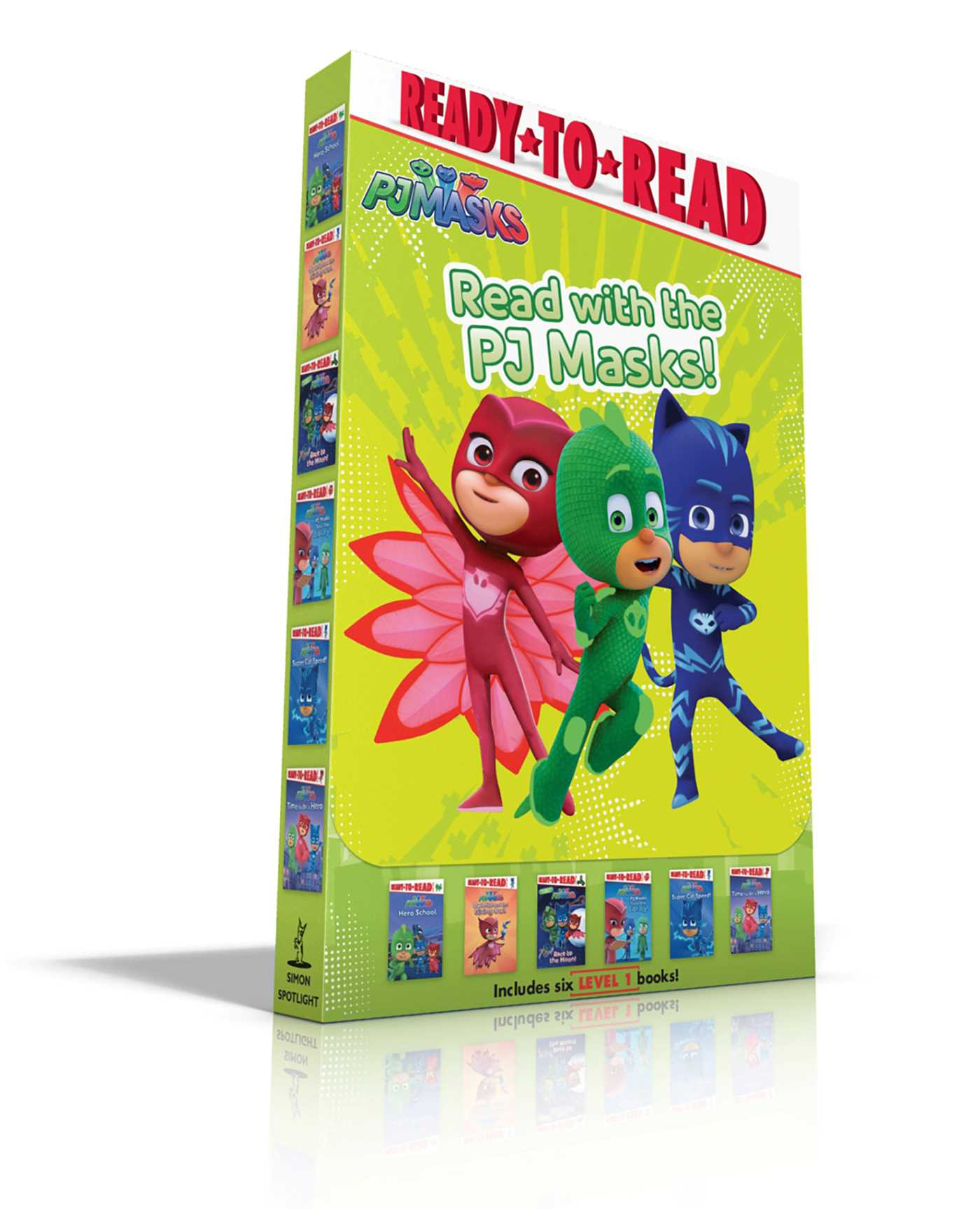 Read with the pj masks 9781534427099 hr