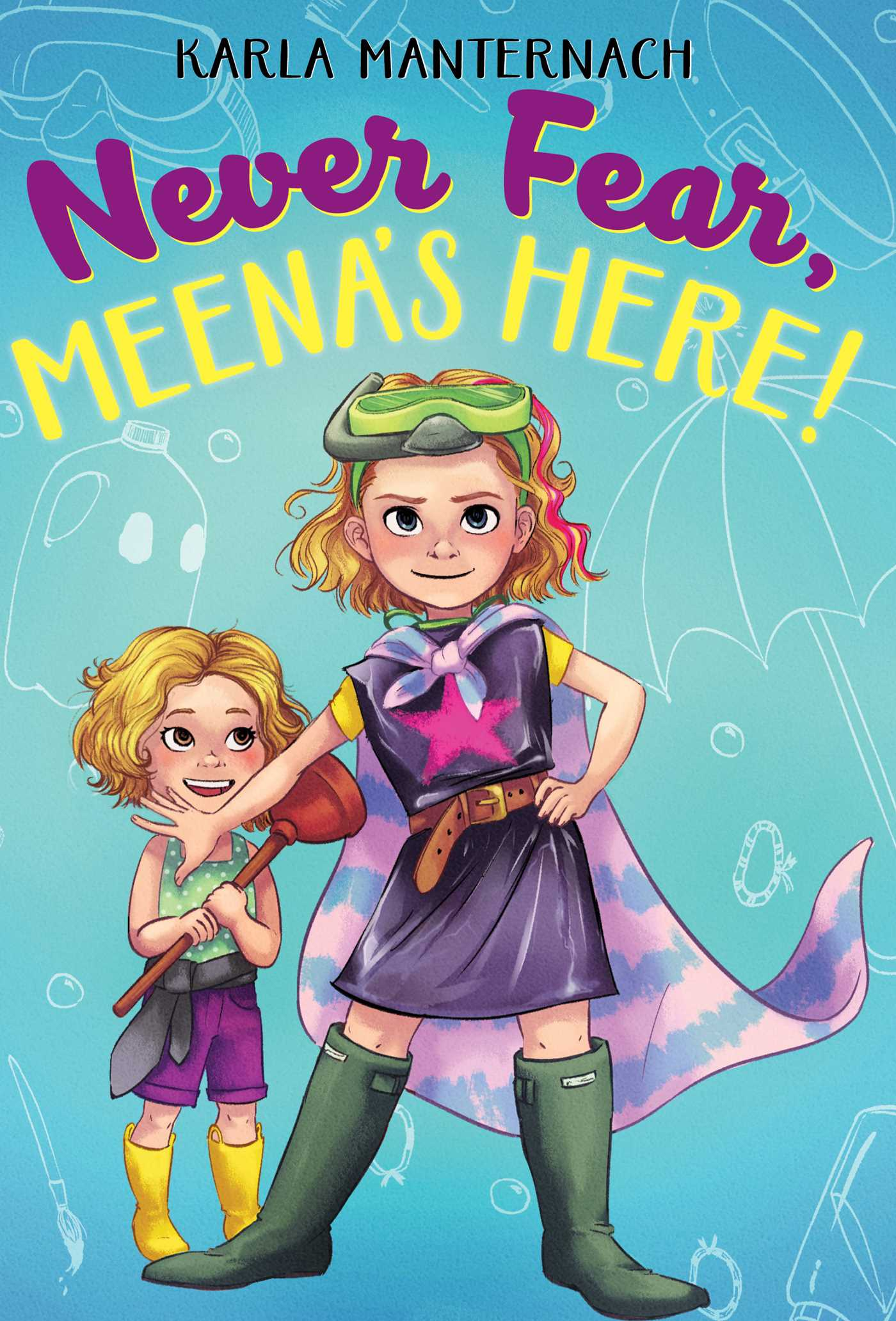 Never Fear Meena S Here Book By Karla Manternach Mina Price Official Publisher Page Simon Schuster
