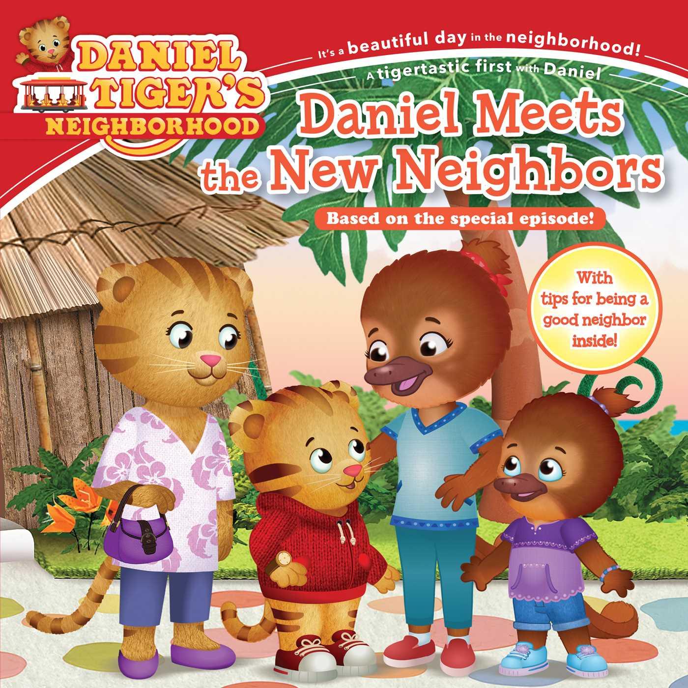 Daniel meets the new neighbors 9781534429628 hr
