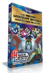 The Voltron Legendary Defender Chapter Book Collection