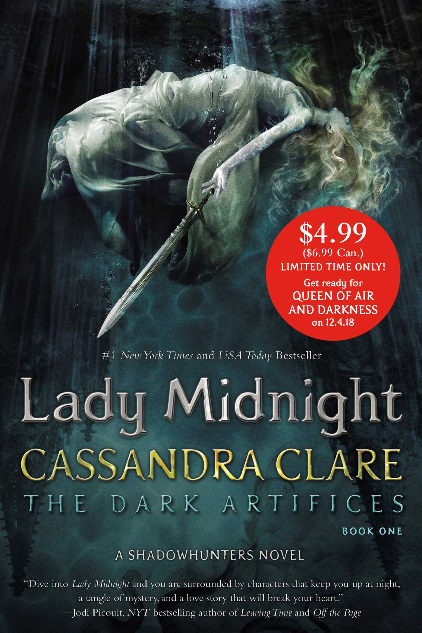 Lady midnight 9781534432307 hr