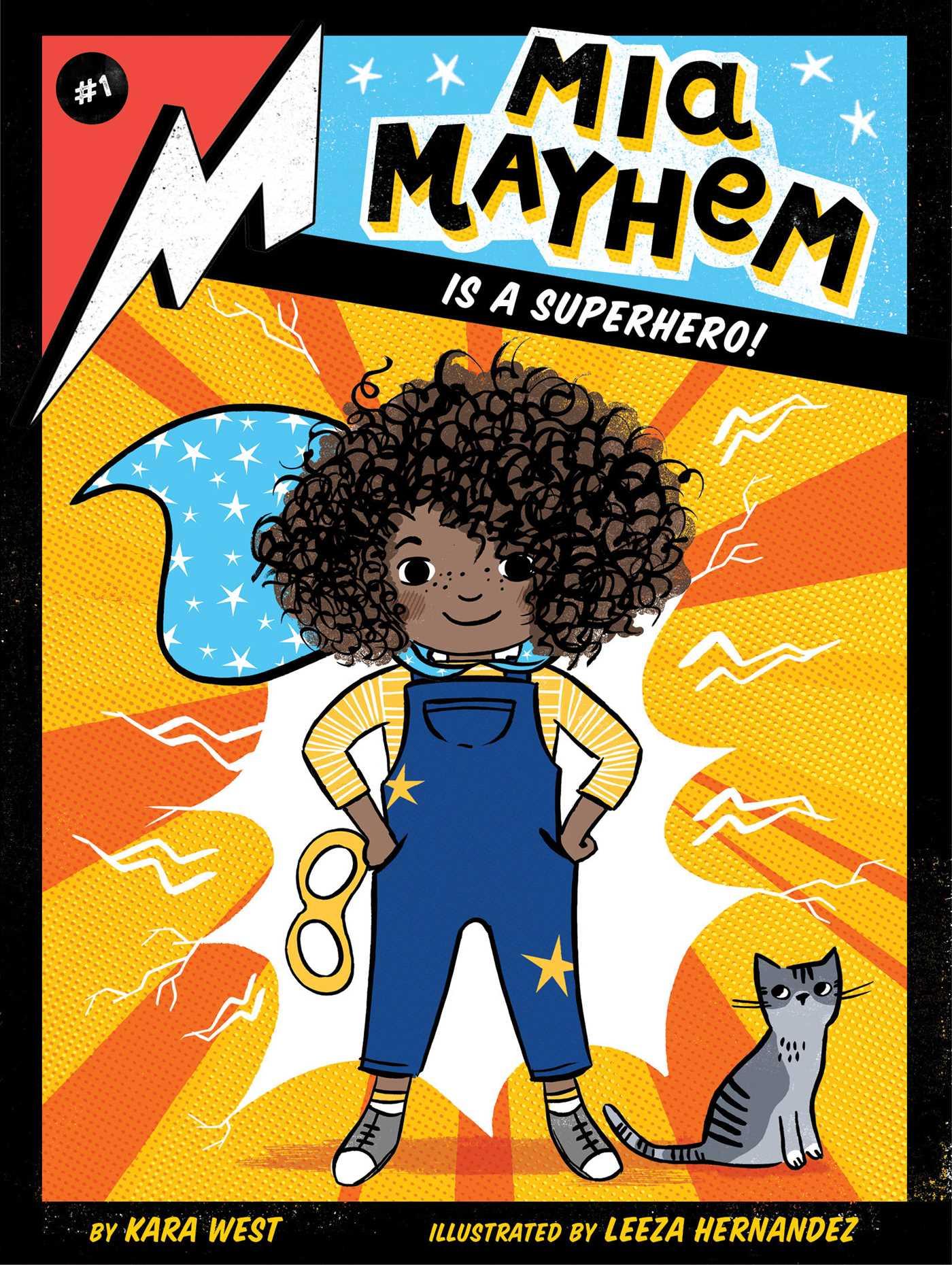 Image result for mia mayhem superhero cover
