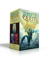 The Unwanteds Quests Books by Lisa McMann and Fiona Hardingham from