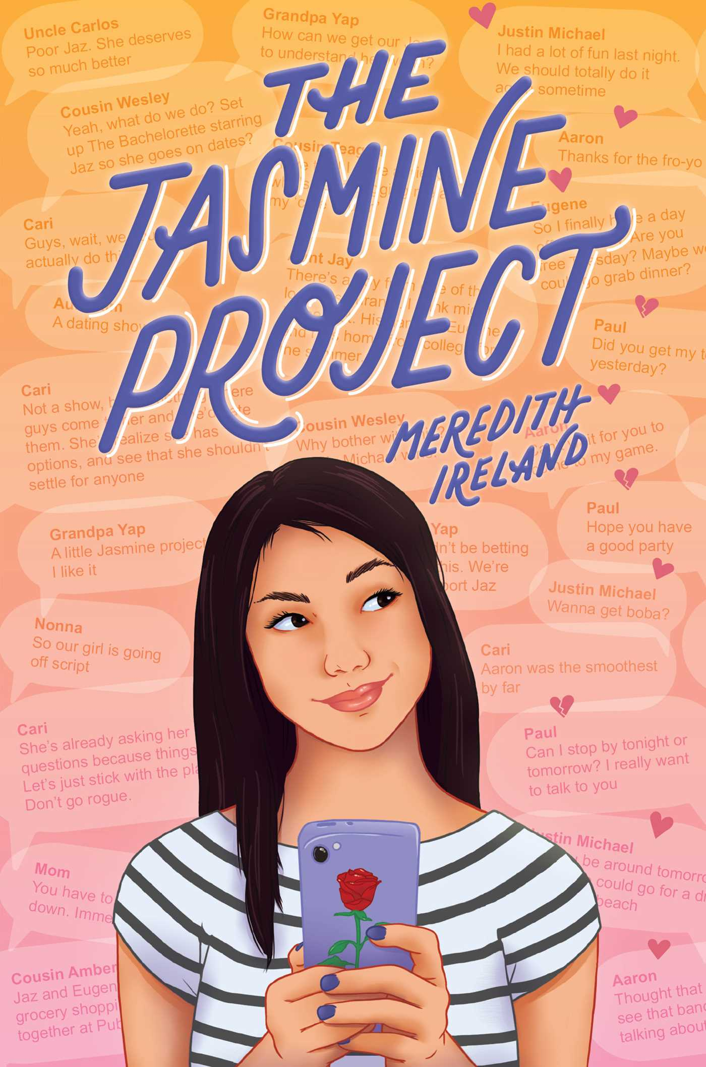 The Jasmine Project | Book by Meredith Ireland | Official Publisher Page |  Simon & Schuster