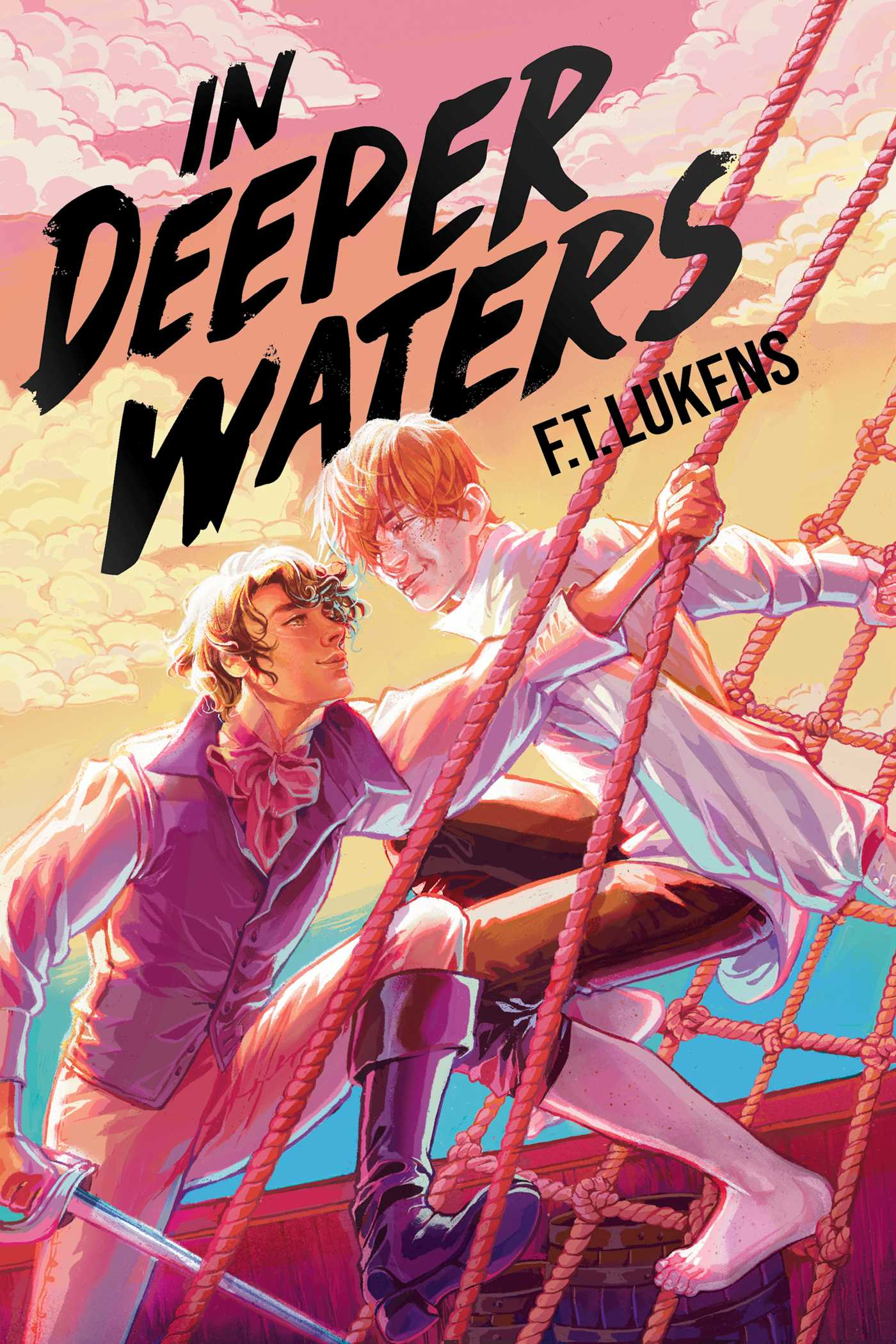 In Deeper Waters | Book by F.T. Lukens | Official Publisher Page | Simon &  Schuster