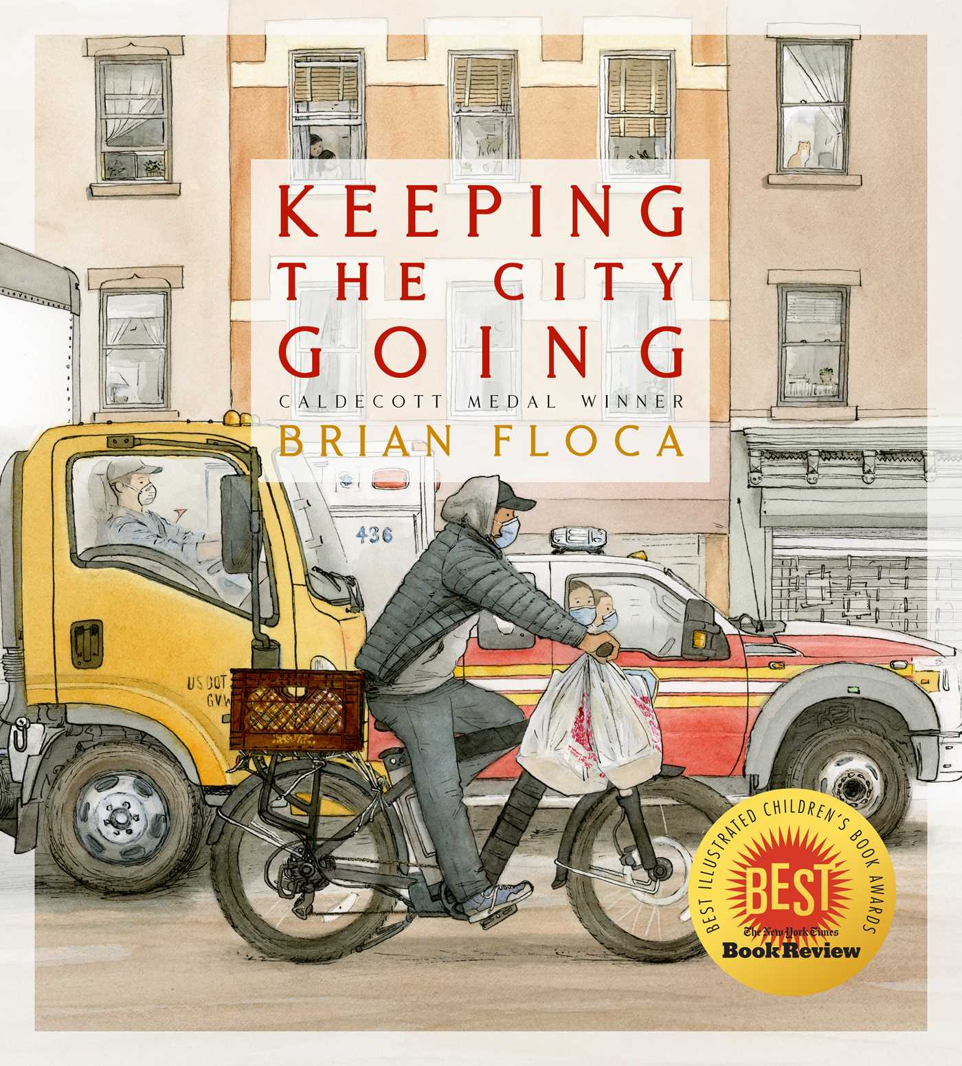 Keeping the City Going | Book by Brian Floca | Official Publisher Page |  Simon & Schuster