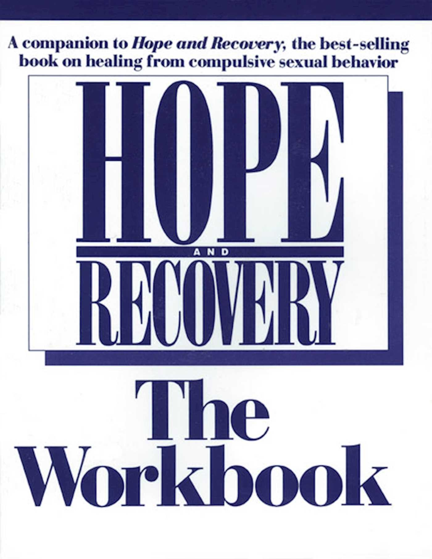 Hope and recovery the workbook 9781568381619 hr