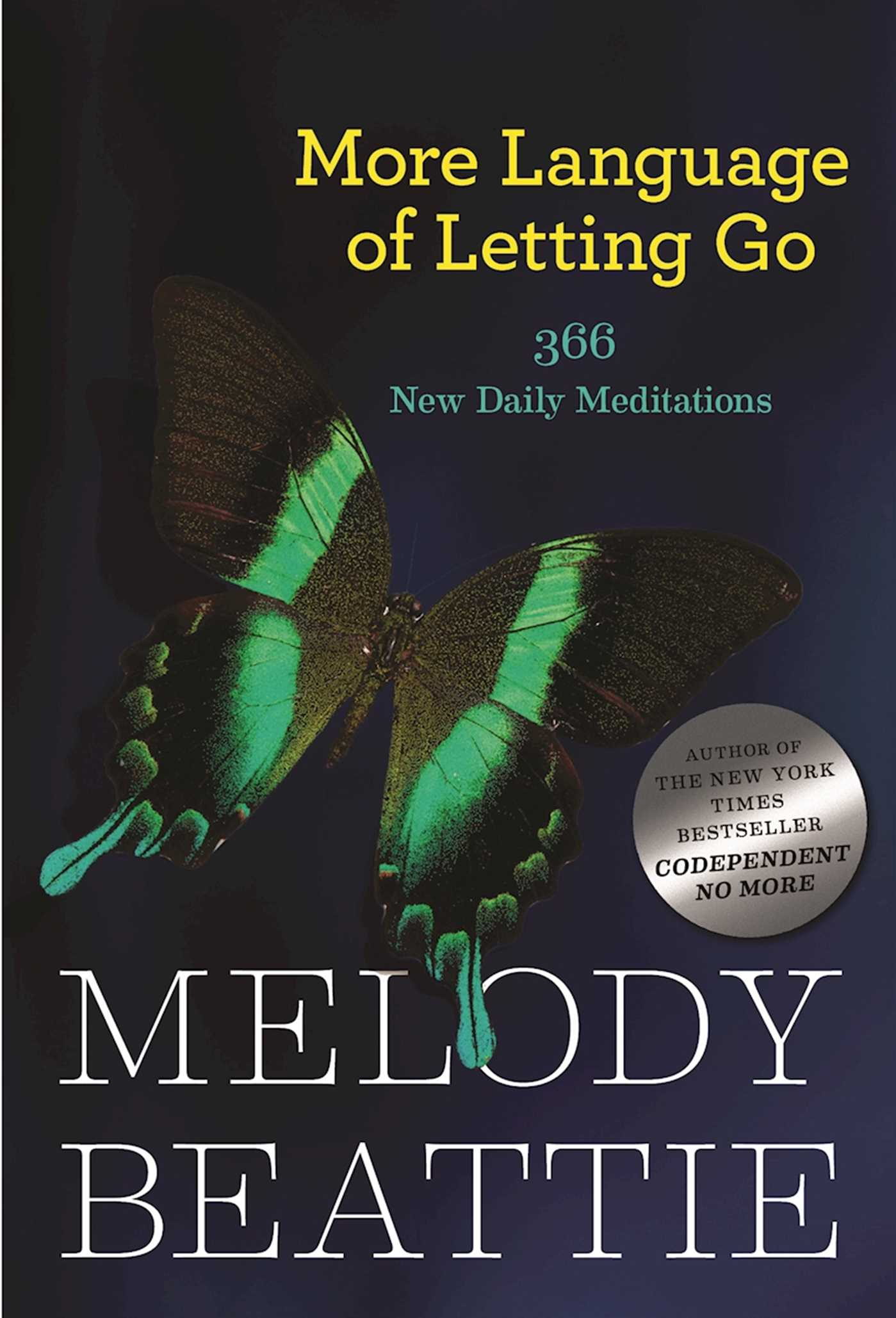 Book Cover Image (jpg): More Language of Letting Go