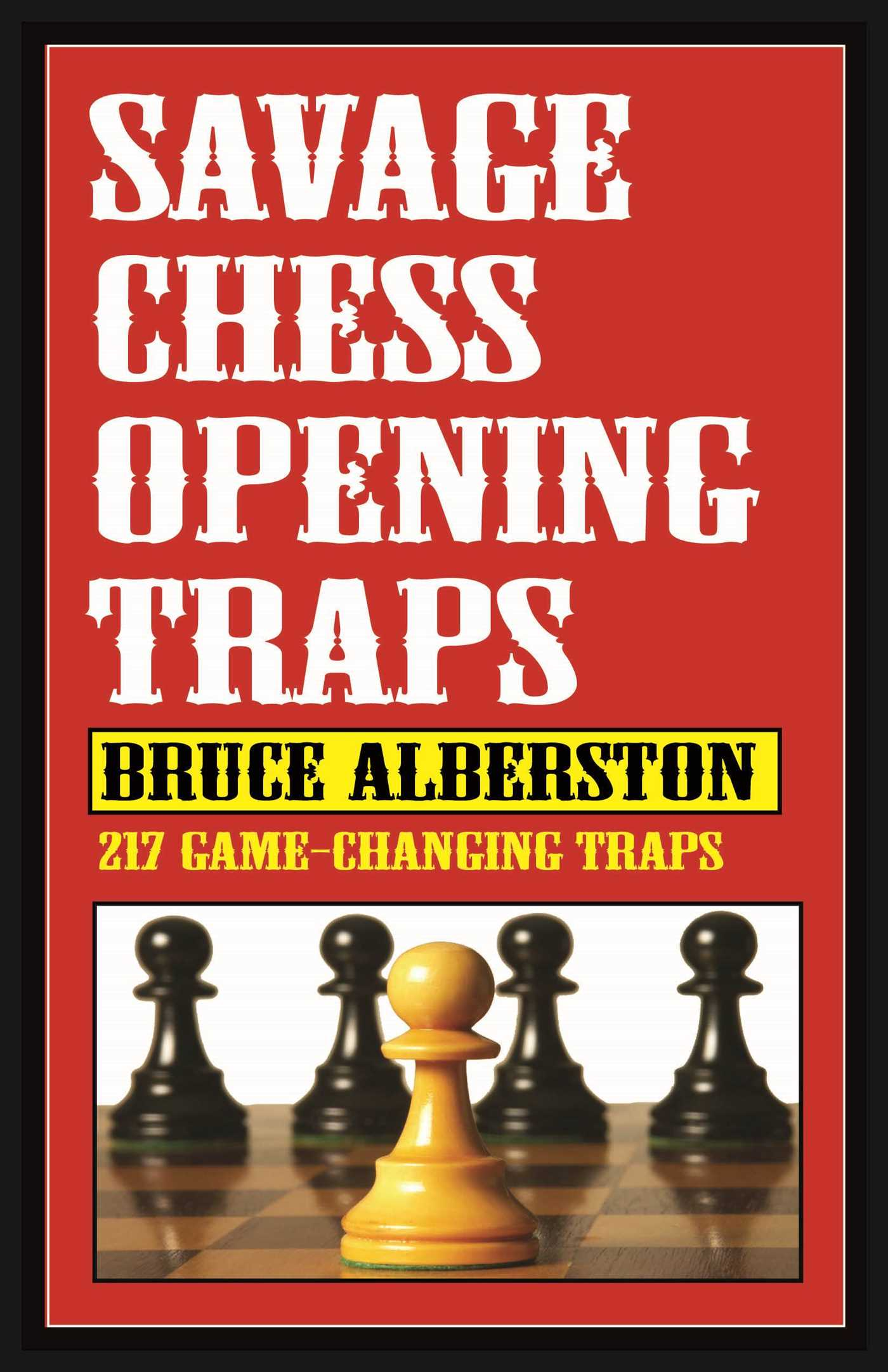 Savage chess openings traps 9781580423540 hr