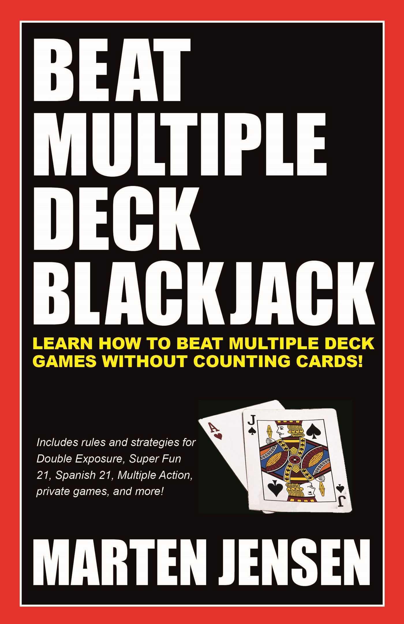 Beat multiple deck blackjack 9781580423564 hr