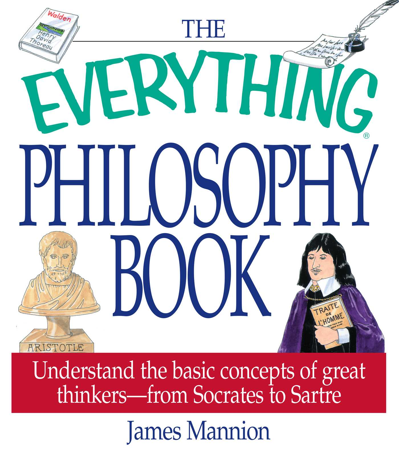 The everything philosophy book book by james mannion official the everything philosophy book 9781580626446 hr fandeluxe Images