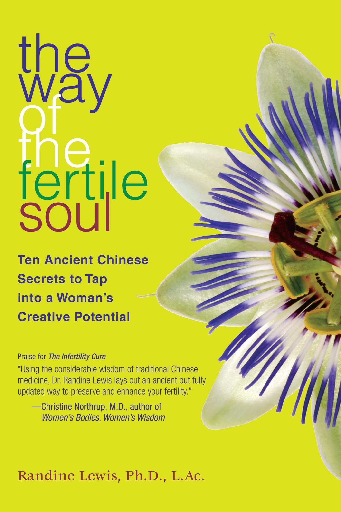 The way of the fertile soul book by randine lewis official ten ancient chinese secrets to tap into a womans creative potential fandeluxe Image collections