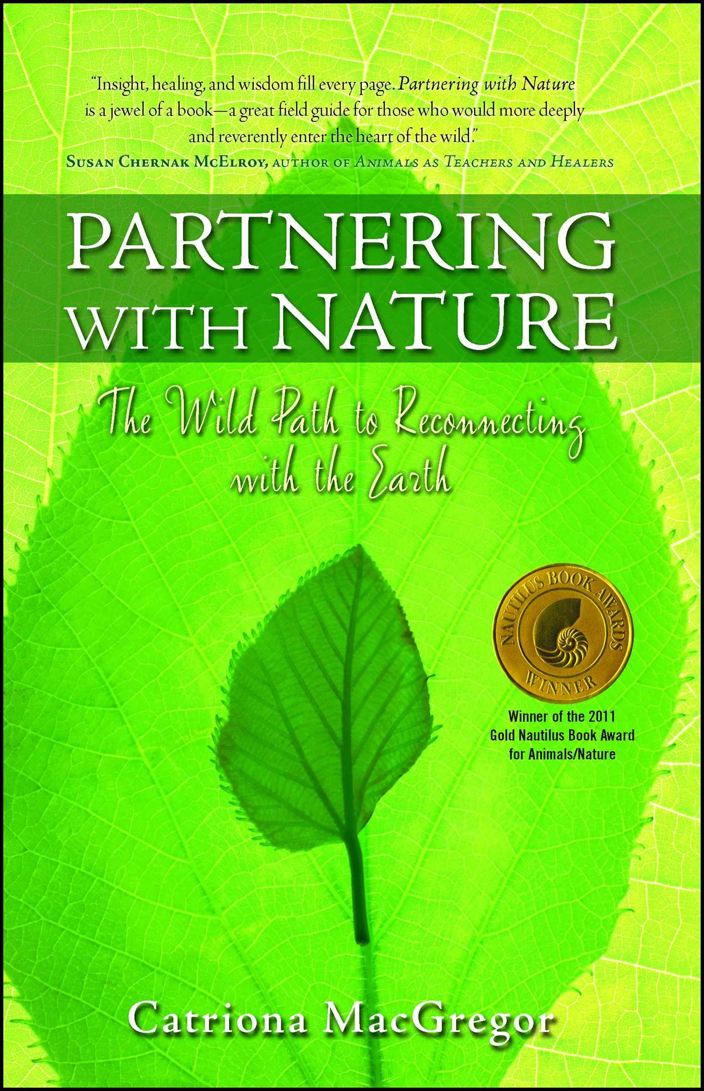 Book Cover Image (jpg): Partnering with Nature