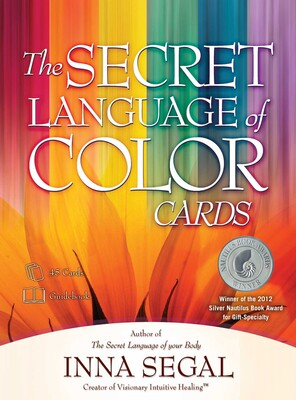the secret language of color cards book by inna segal official