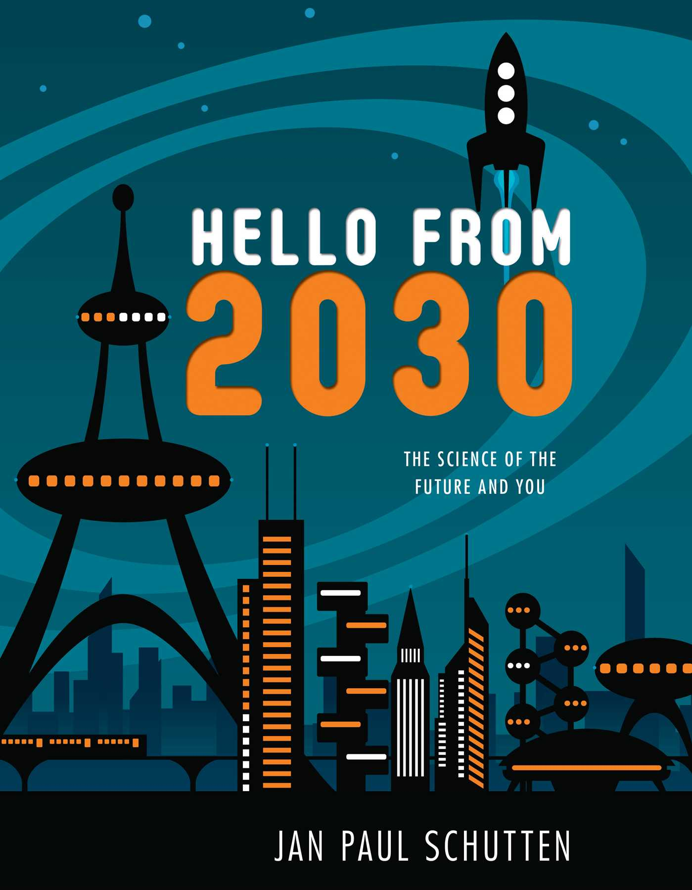 Book Cover Image (jpg): Hello from 2030