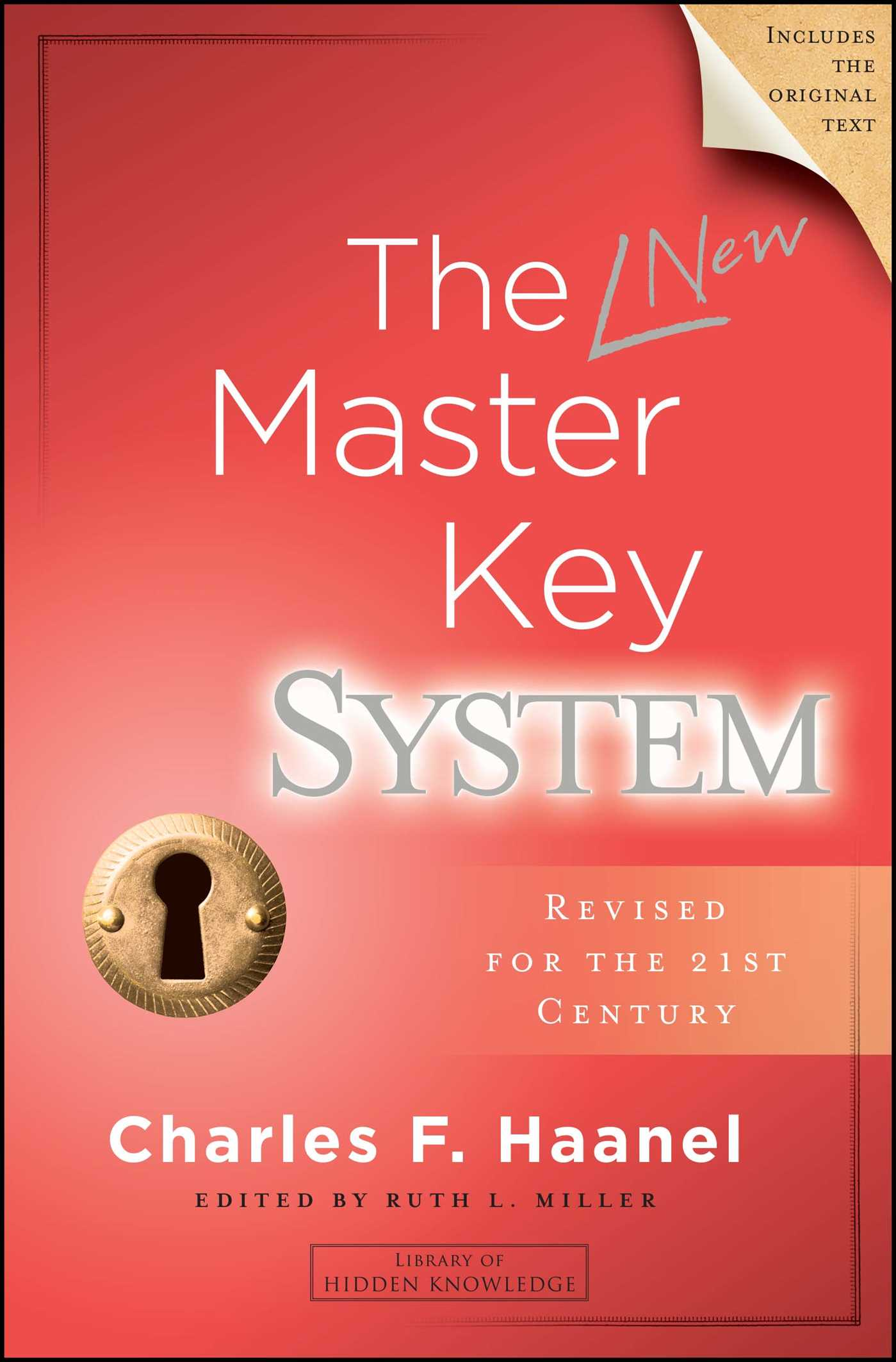 The new master key system 9781582706672 hr