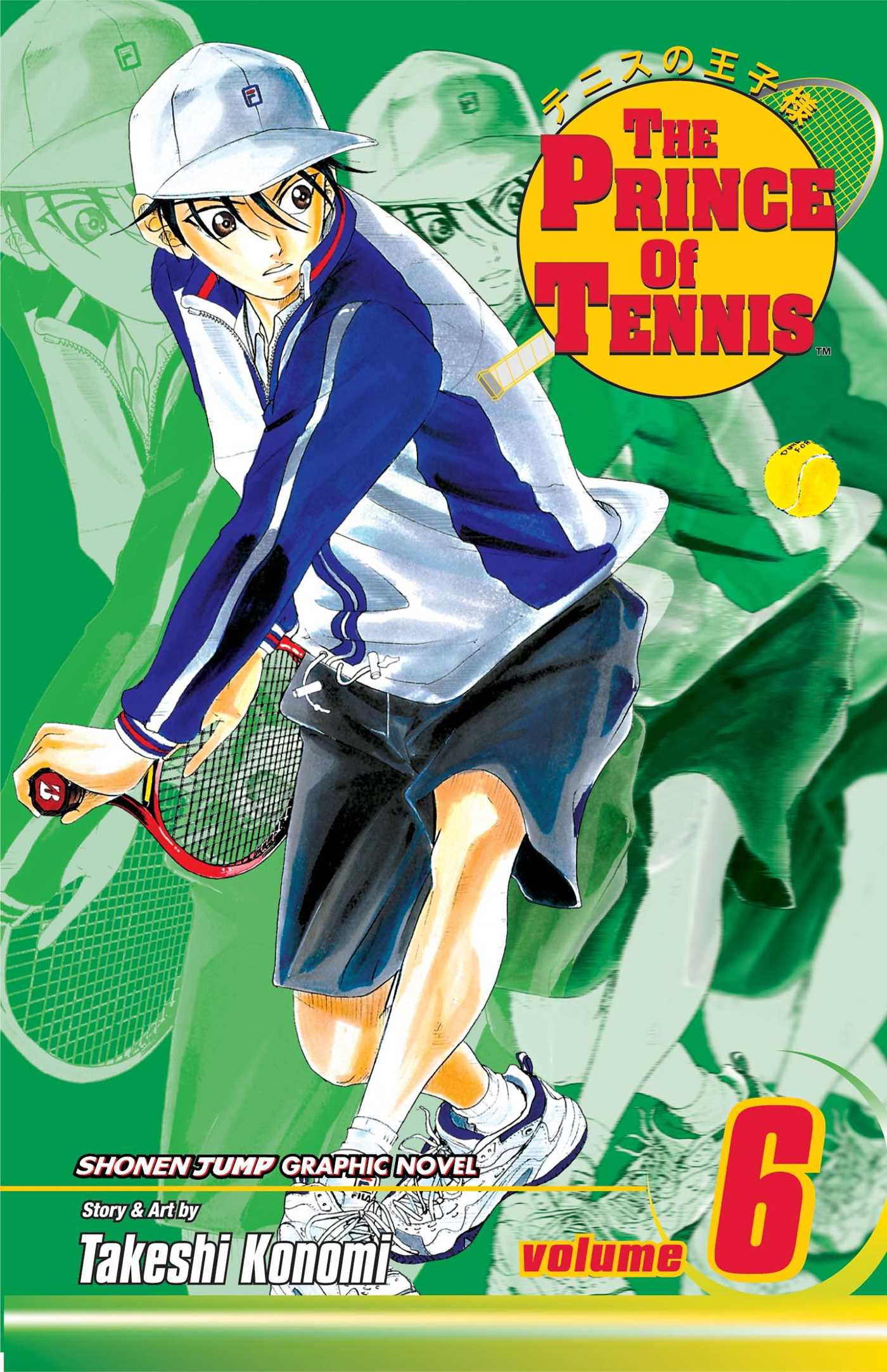 The Prince Of Tennis Vol 6 Book By Takeshi Konomi Official Publisher Page Simon Schuster