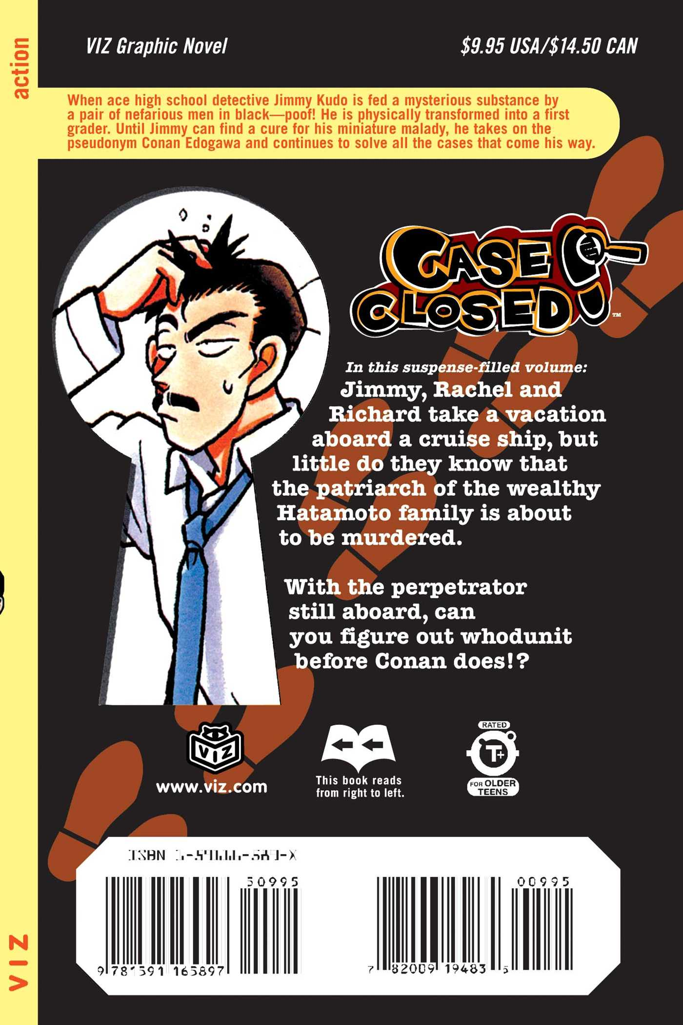 Case closed vol 3 9781591165897 hr back