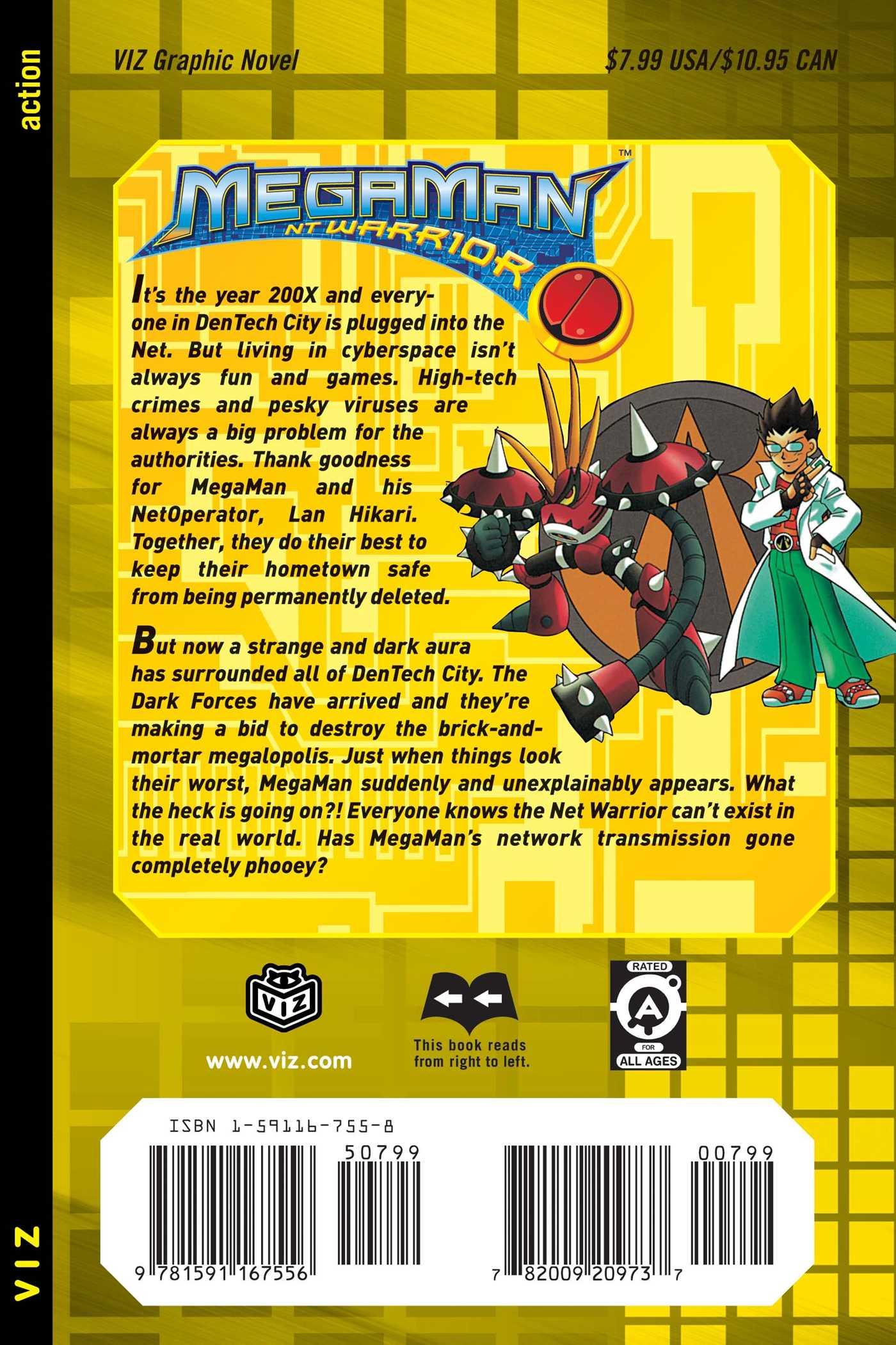 MegaMan NT Warrior Manga | Anime-Planet