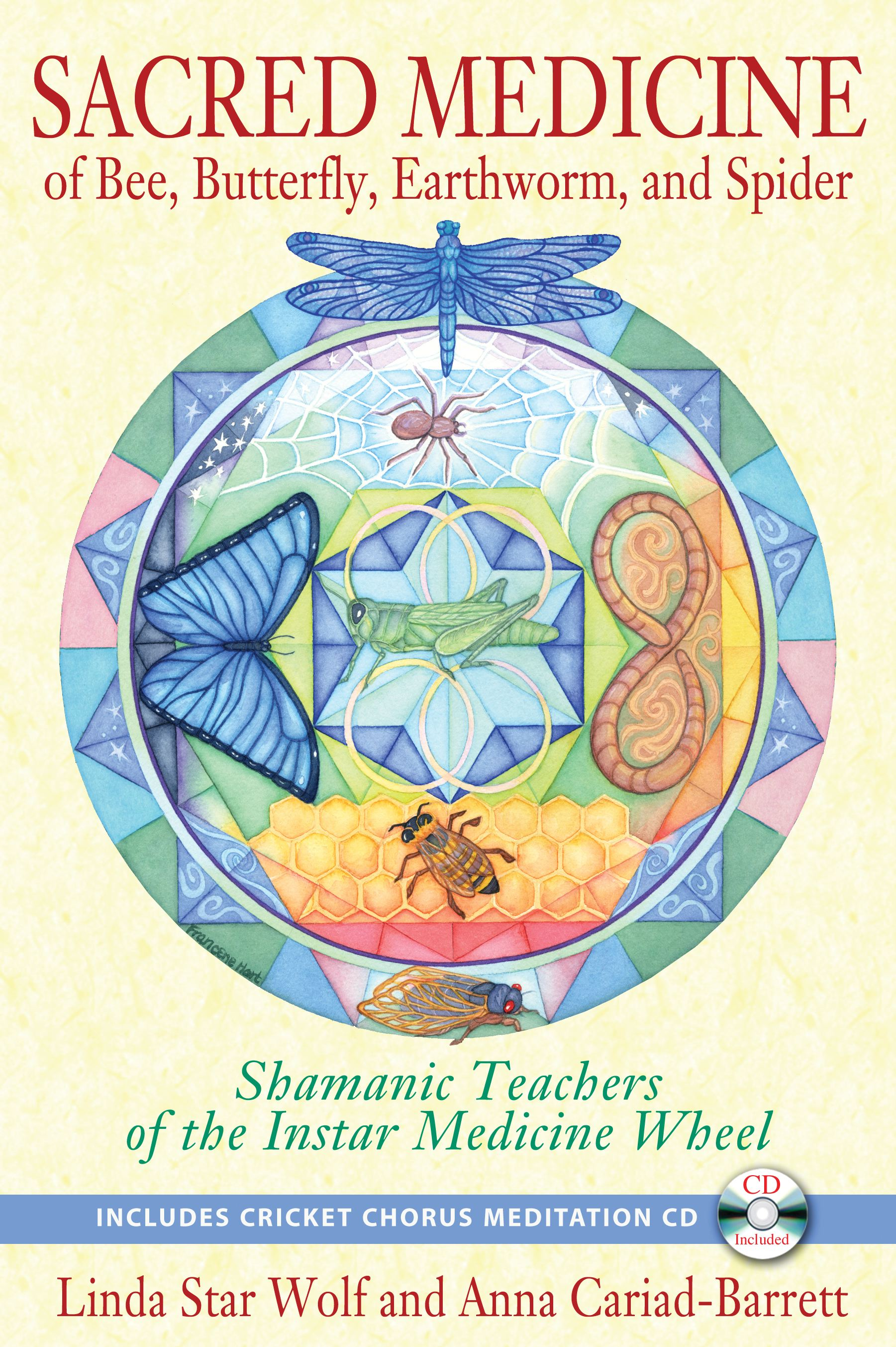 Sacred medicine of bee butterfly earthworm and spider book by sacred medicine of bee butterfly earthworm and spider 9781591431497 hr fandeluxe Gallery