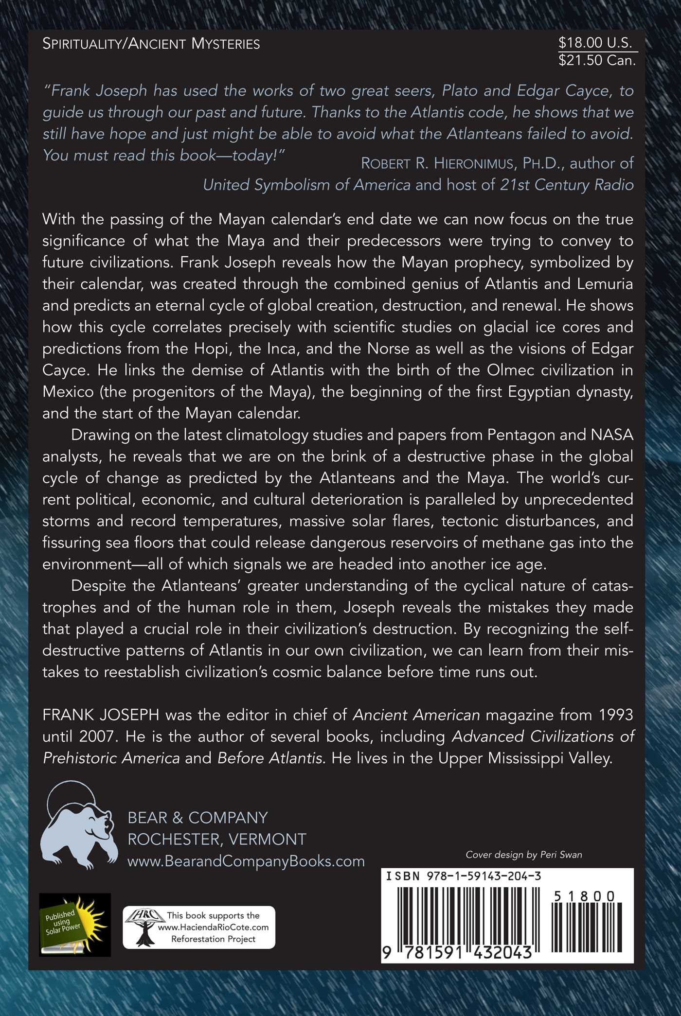 Atlantis and the Coming Ice Age | Book by Frank Joseph