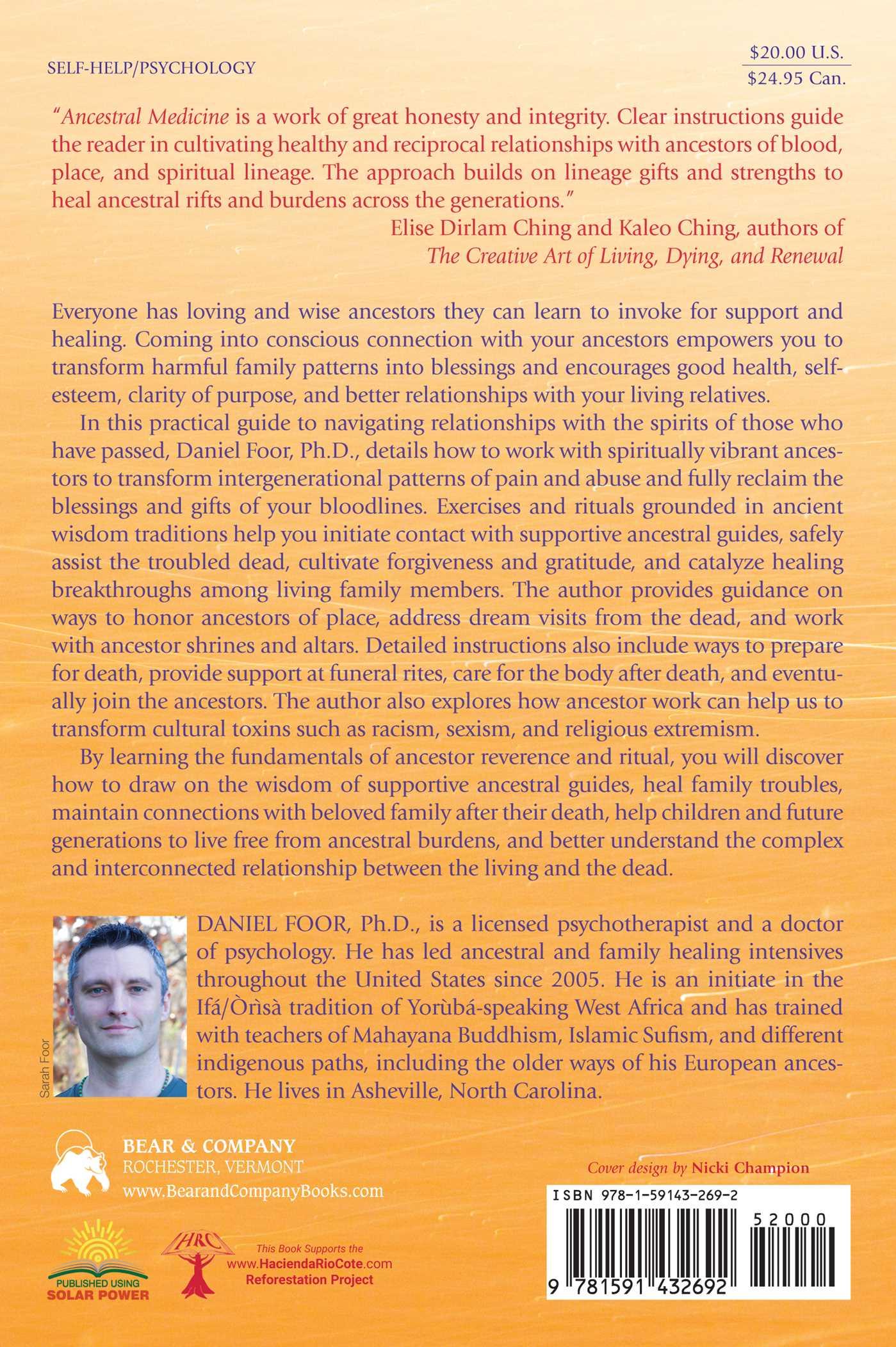 Ancestral Medicine | Book by Daniel Foor, Daniel Foor | Official