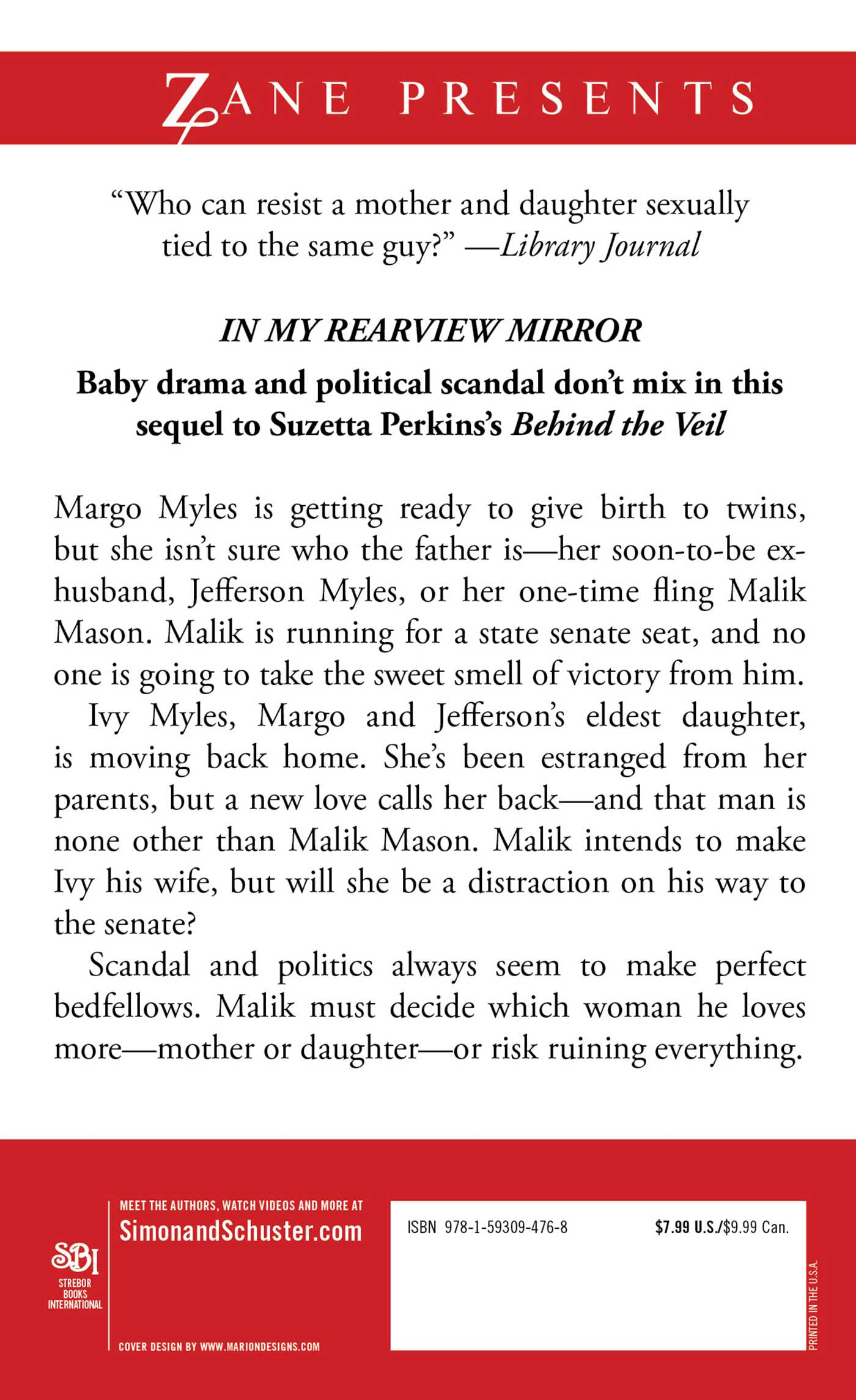 In My Rearview Mirror Book By Suzetta Perkins Official border=