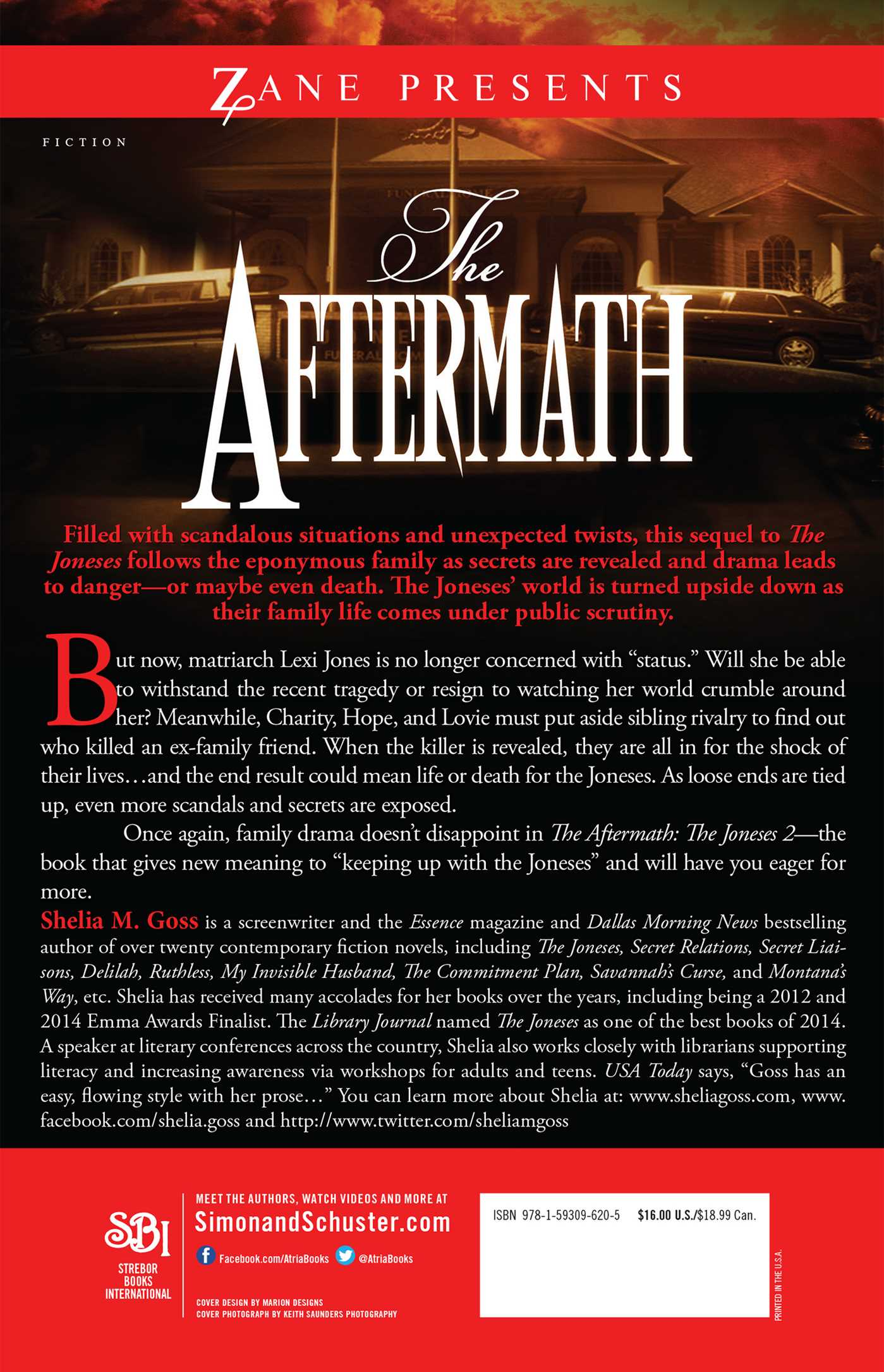 The aftermath the joneses 2 9781593096205 hr back