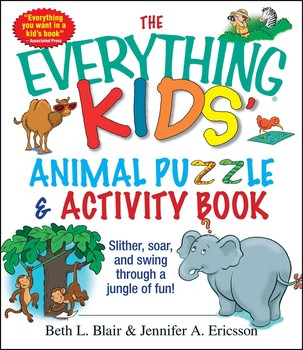 The Everything Kids Animal Puzzles Activity Book Book By Beth L