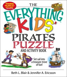 The Everything Kids' Pirates Puzzle And Activity Book
