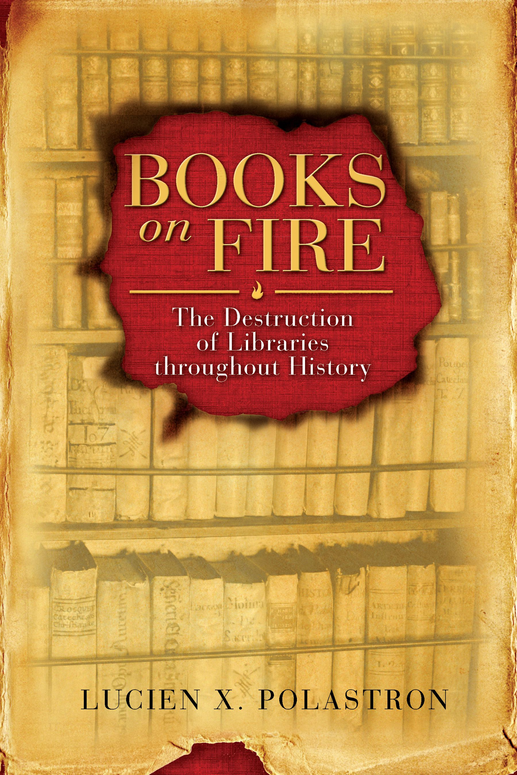 Books on fire 9781594771675 hr
