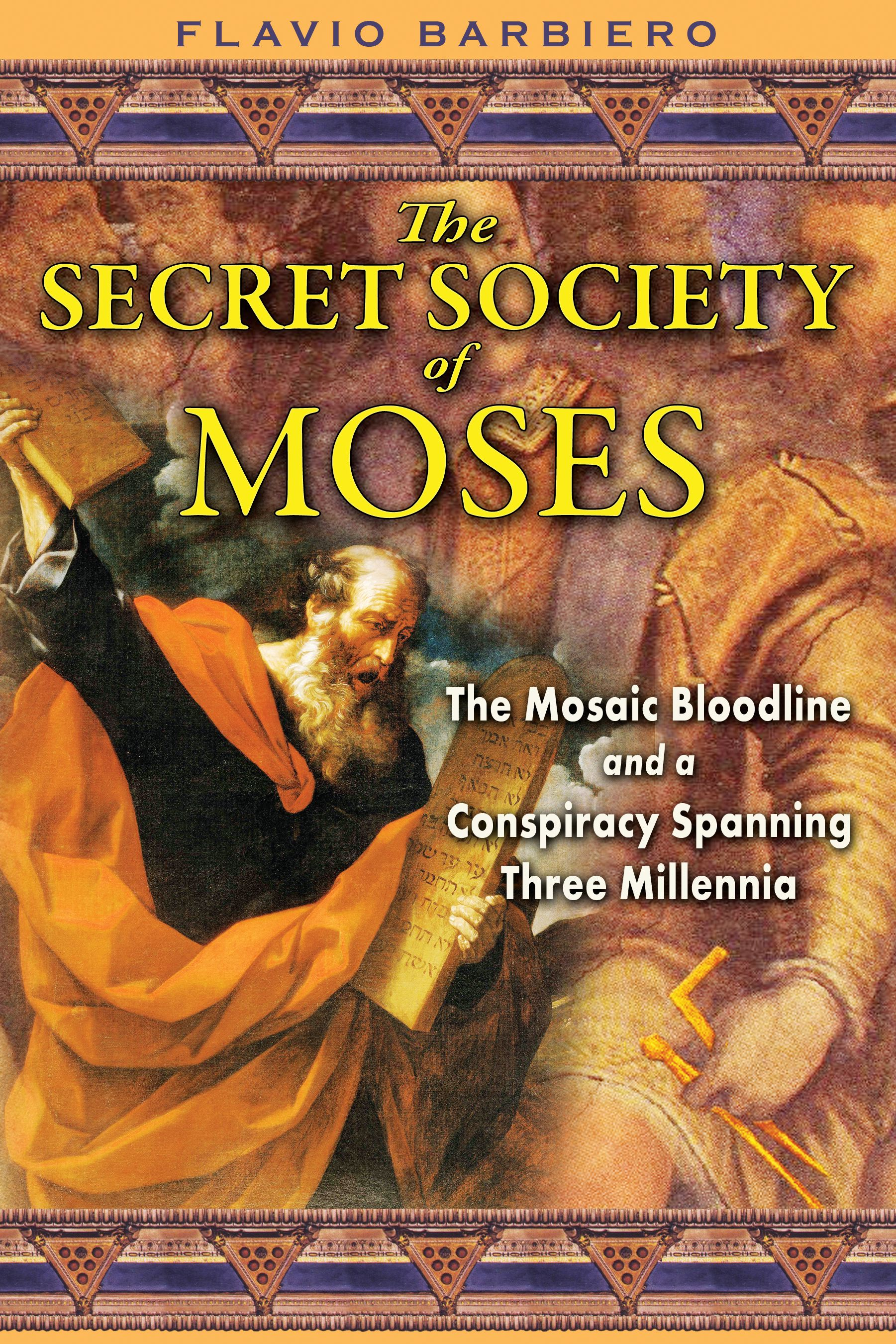 The Secret Society of Moses   Book by Flavio Barbiero