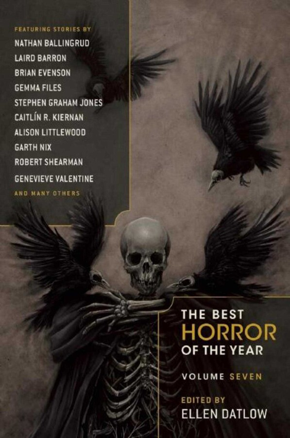 The Best Horror Of The Year Volume Seven Book By Ellen Datlow